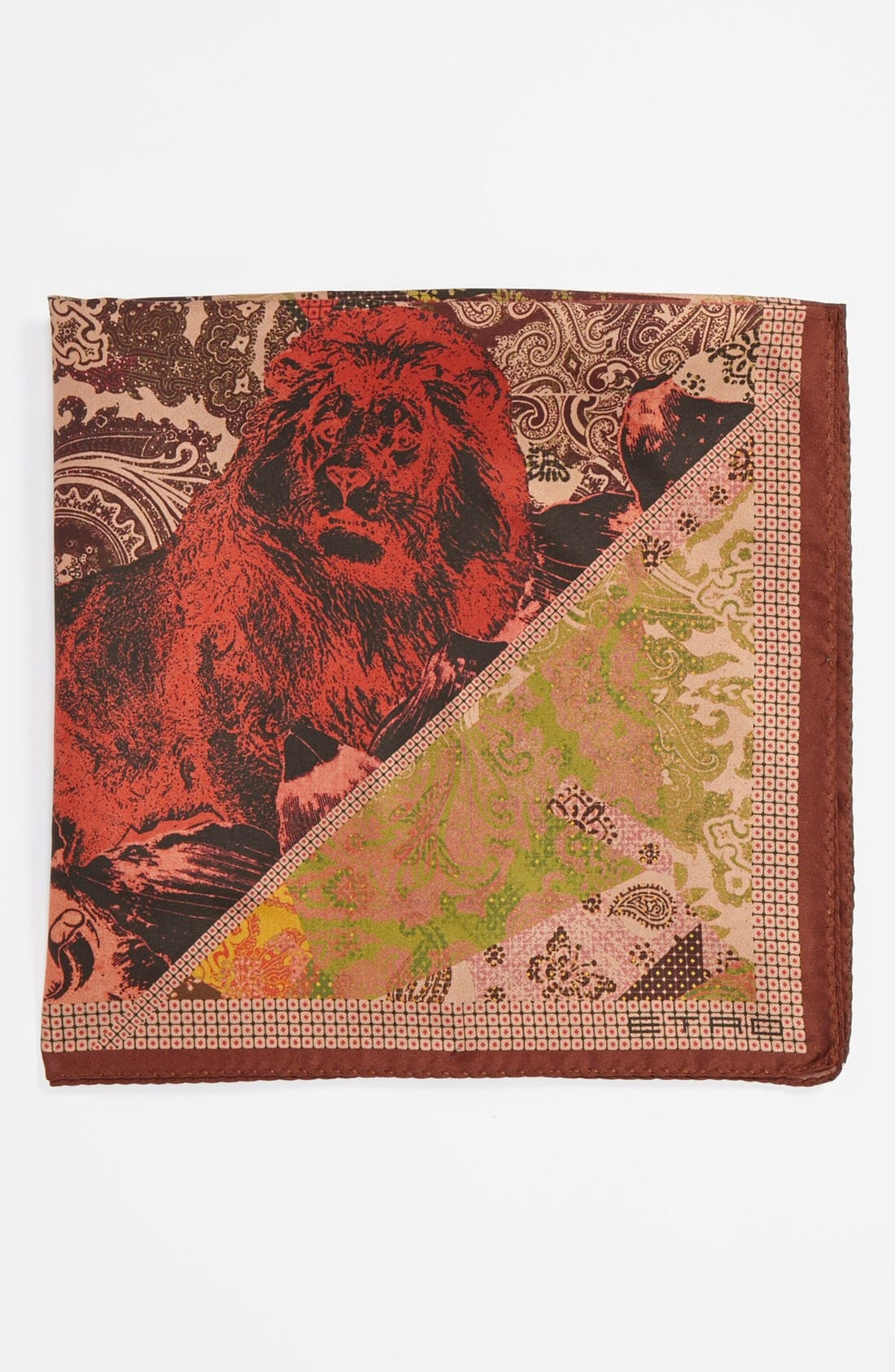 Silk Pocket Square,                             Main thumbnail 1, color,                             650