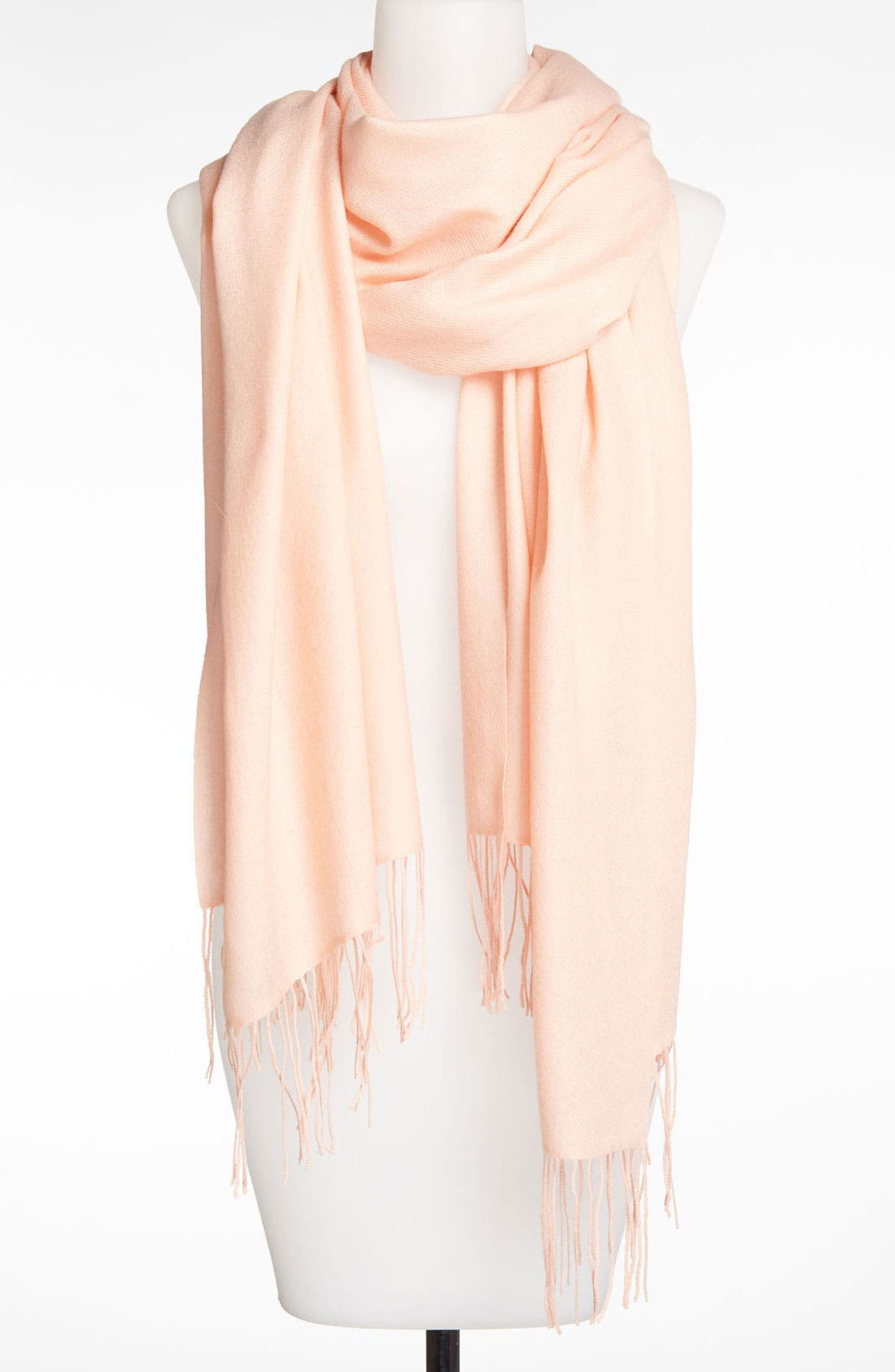 Tissue Weight Wool & Cashmere Wrap,                             Main thumbnail 174, color,