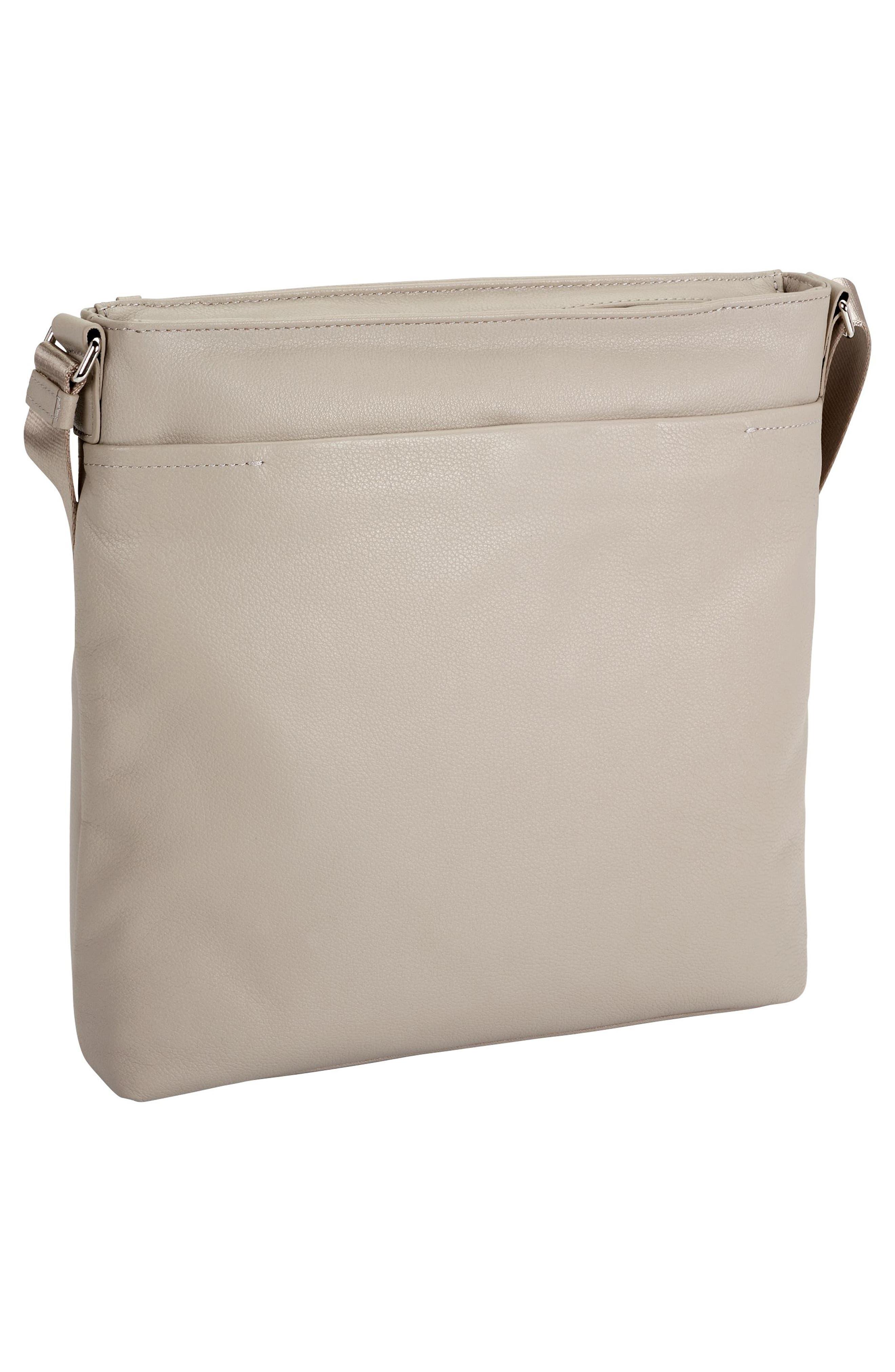 Voyageur - Capri Leather Crossbody Bag,                             Alternate thumbnail 9, color,