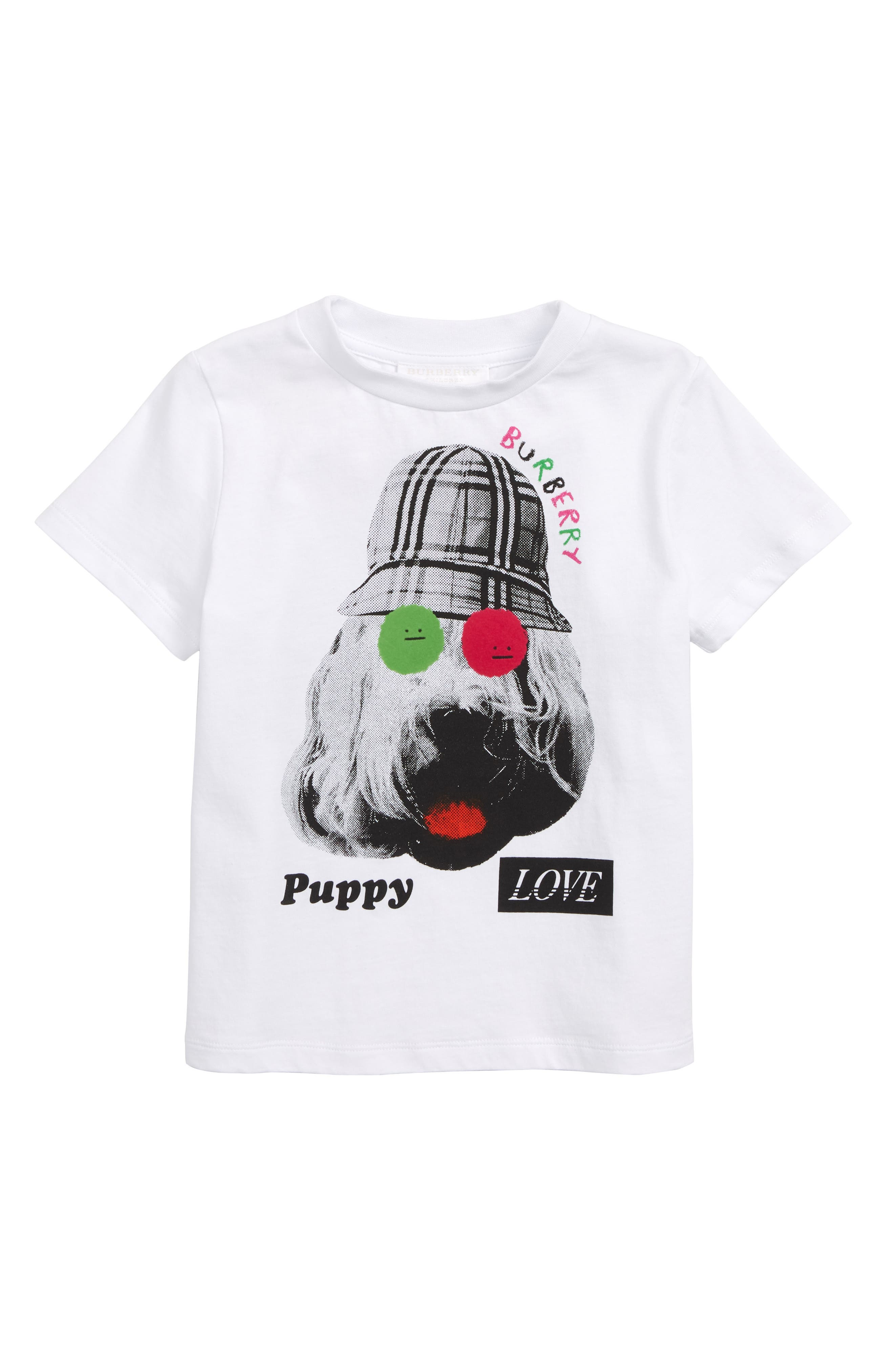 Dog T-Shirt,                             Main thumbnail 1, color,                             WHITE