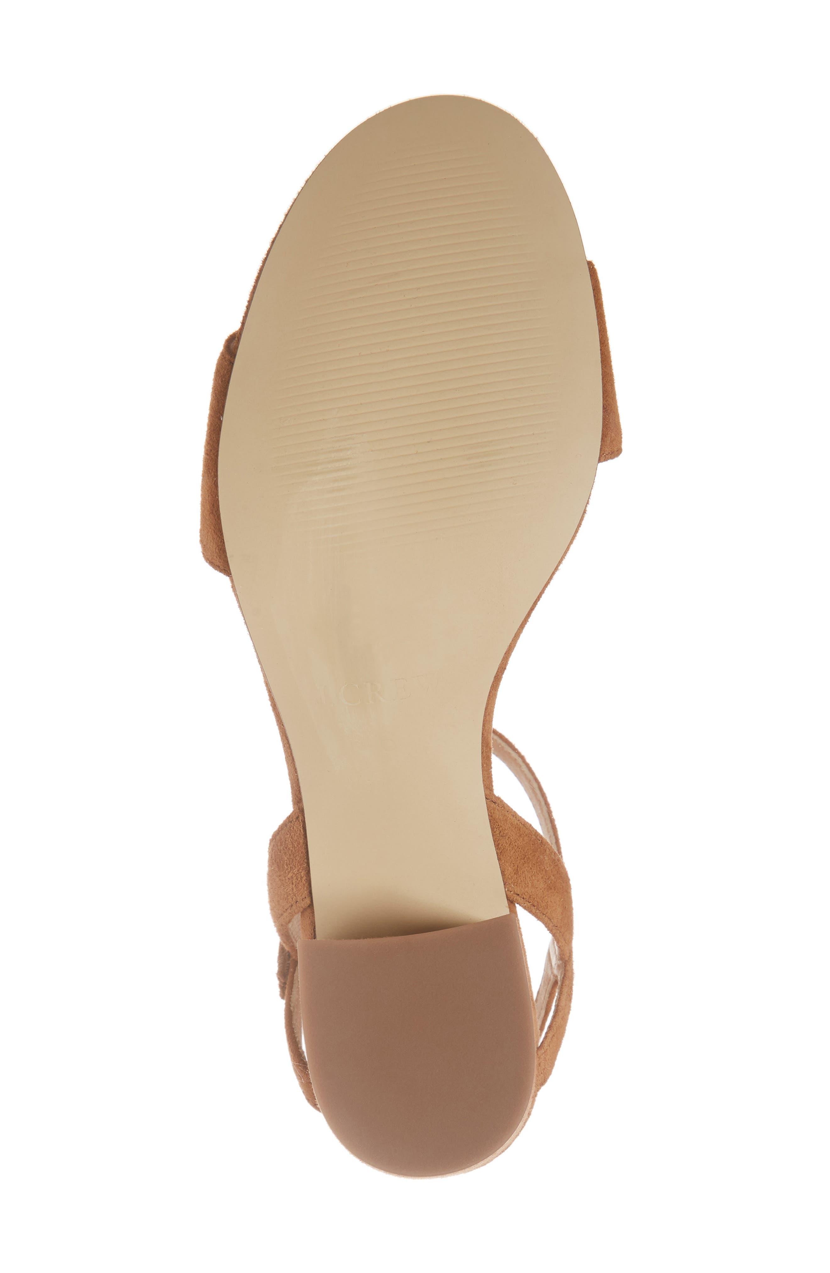 Strappy Block Heel Sandal,                             Alternate thumbnail 14, color,