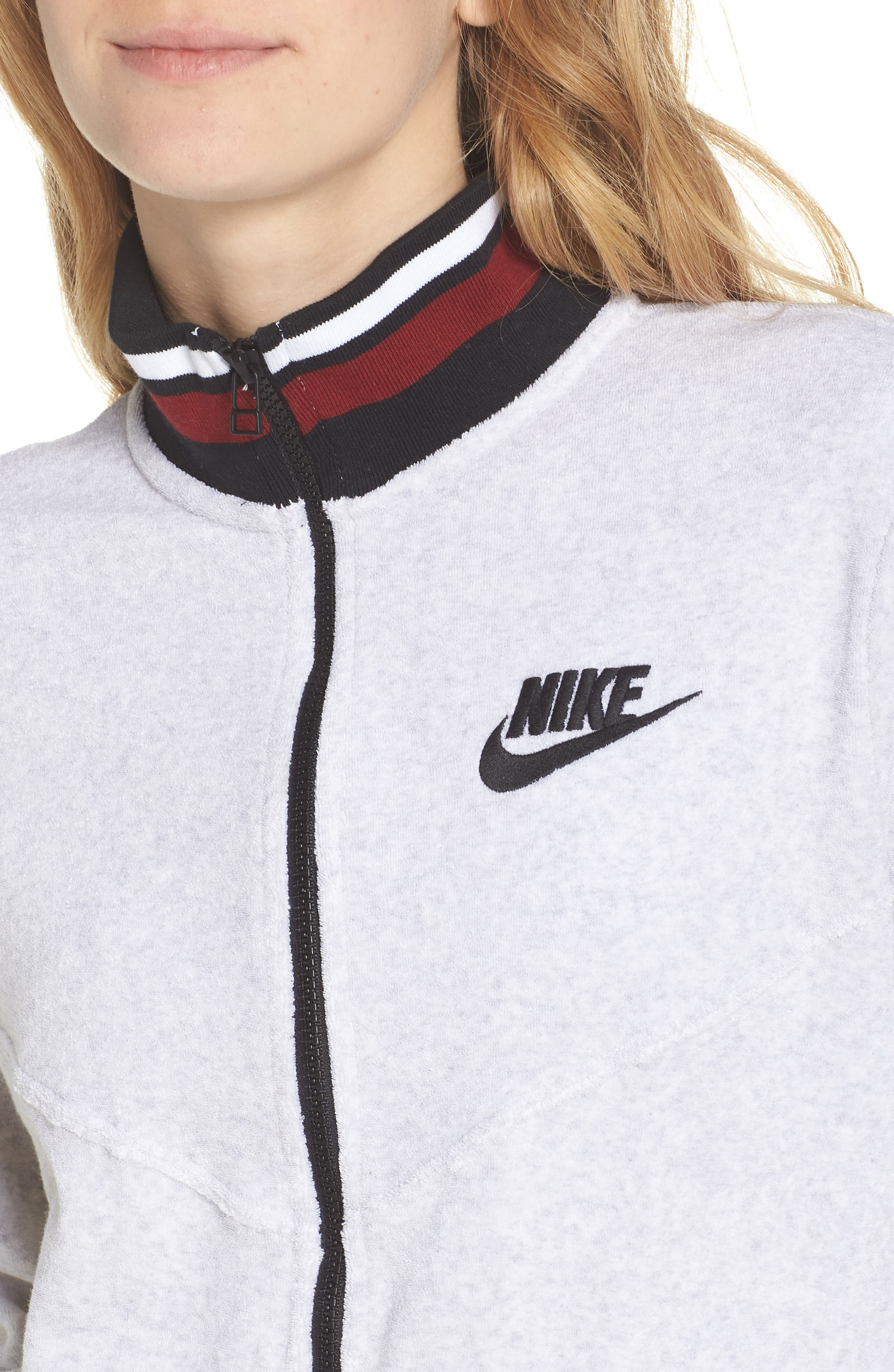 Sportswear French Terry Jacket,                             Alternate thumbnail 15, color,