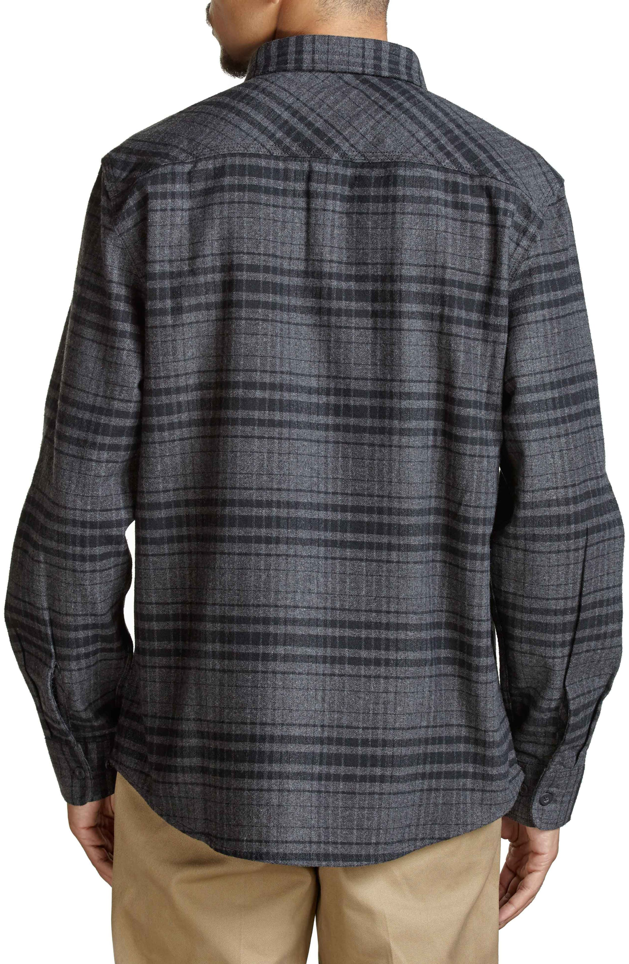 Bowery Flannel Shirt,                             Alternate thumbnail 16, color,