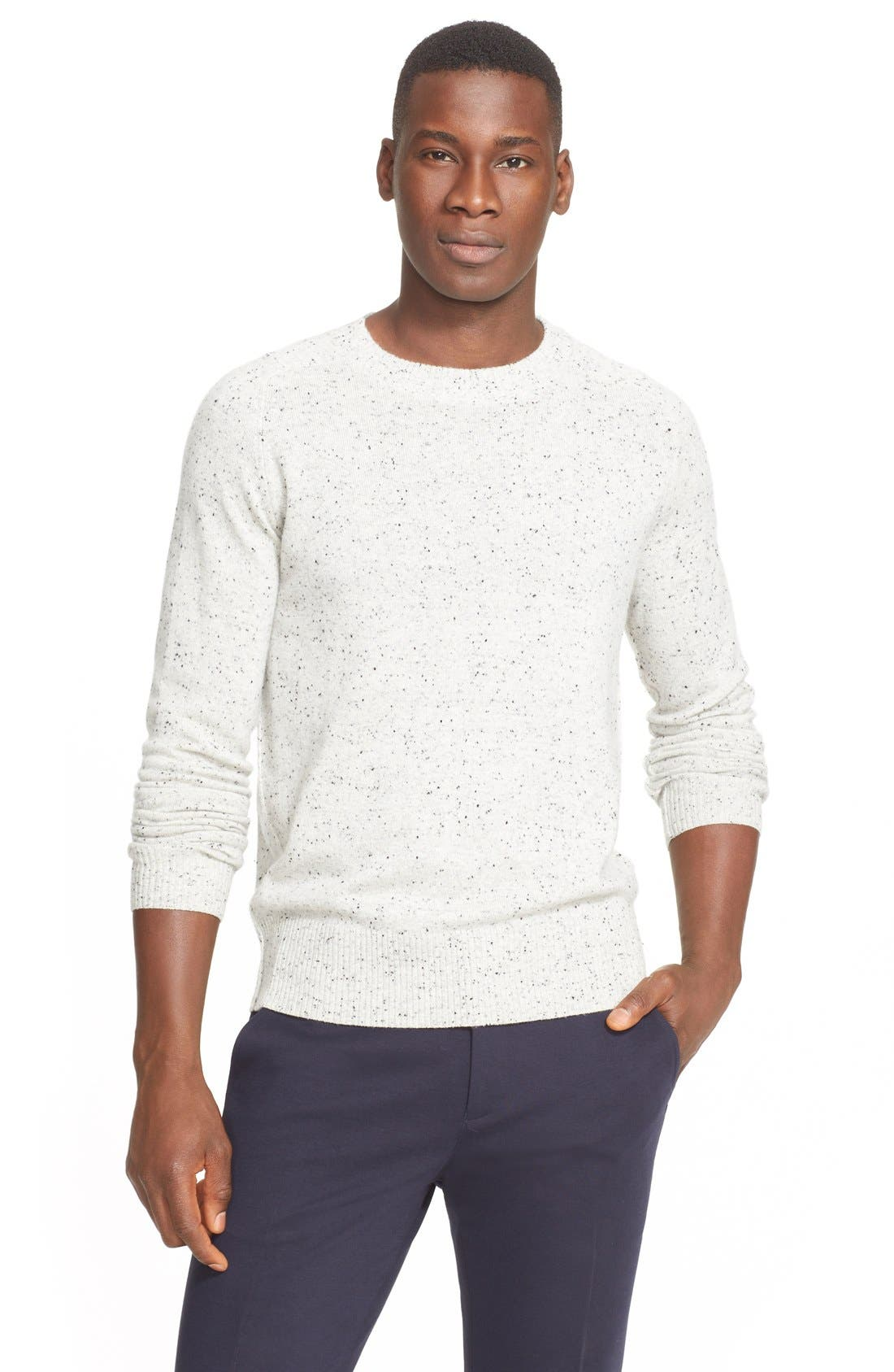 Donegal Cashmere Sweater, Main, color, 022