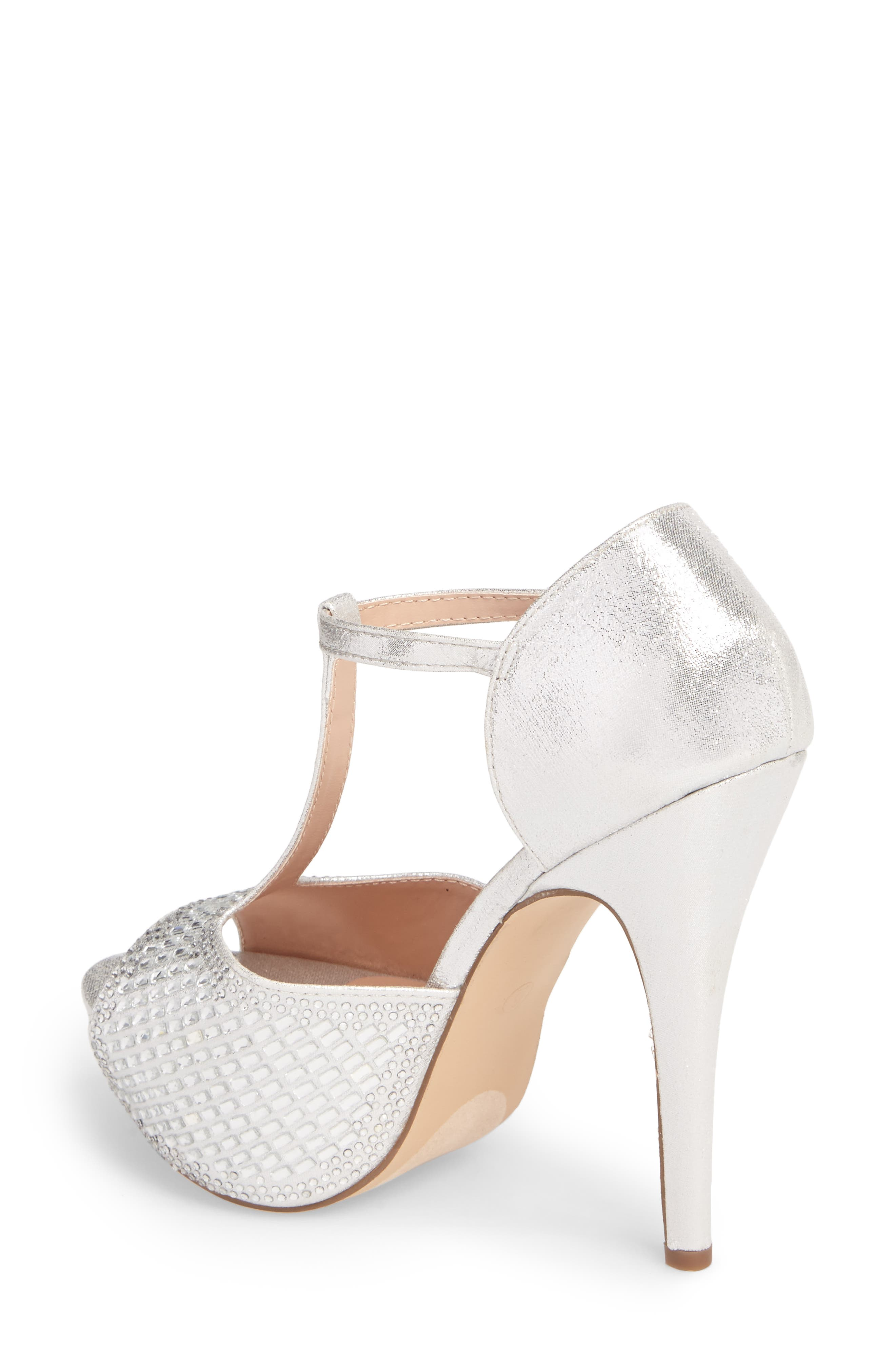 Vivian 4 Crystal Embellished Sandal,                             Alternate thumbnail 5, color,