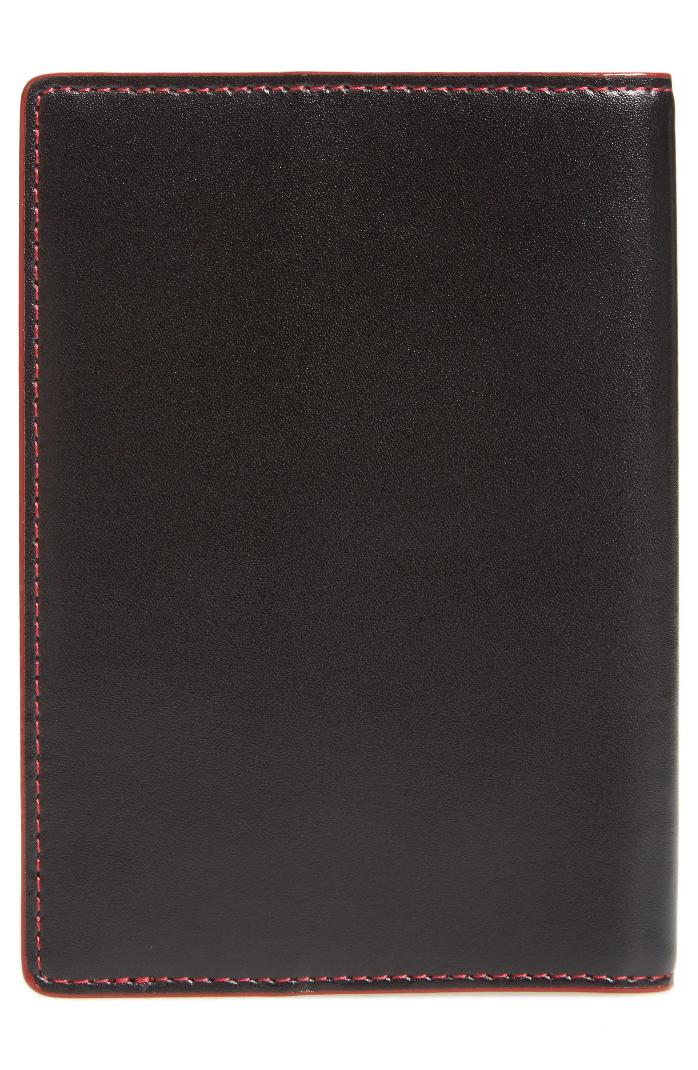 Lodis 'Audrey' Passport Case,                             Alternate thumbnail 4, color,                             001
