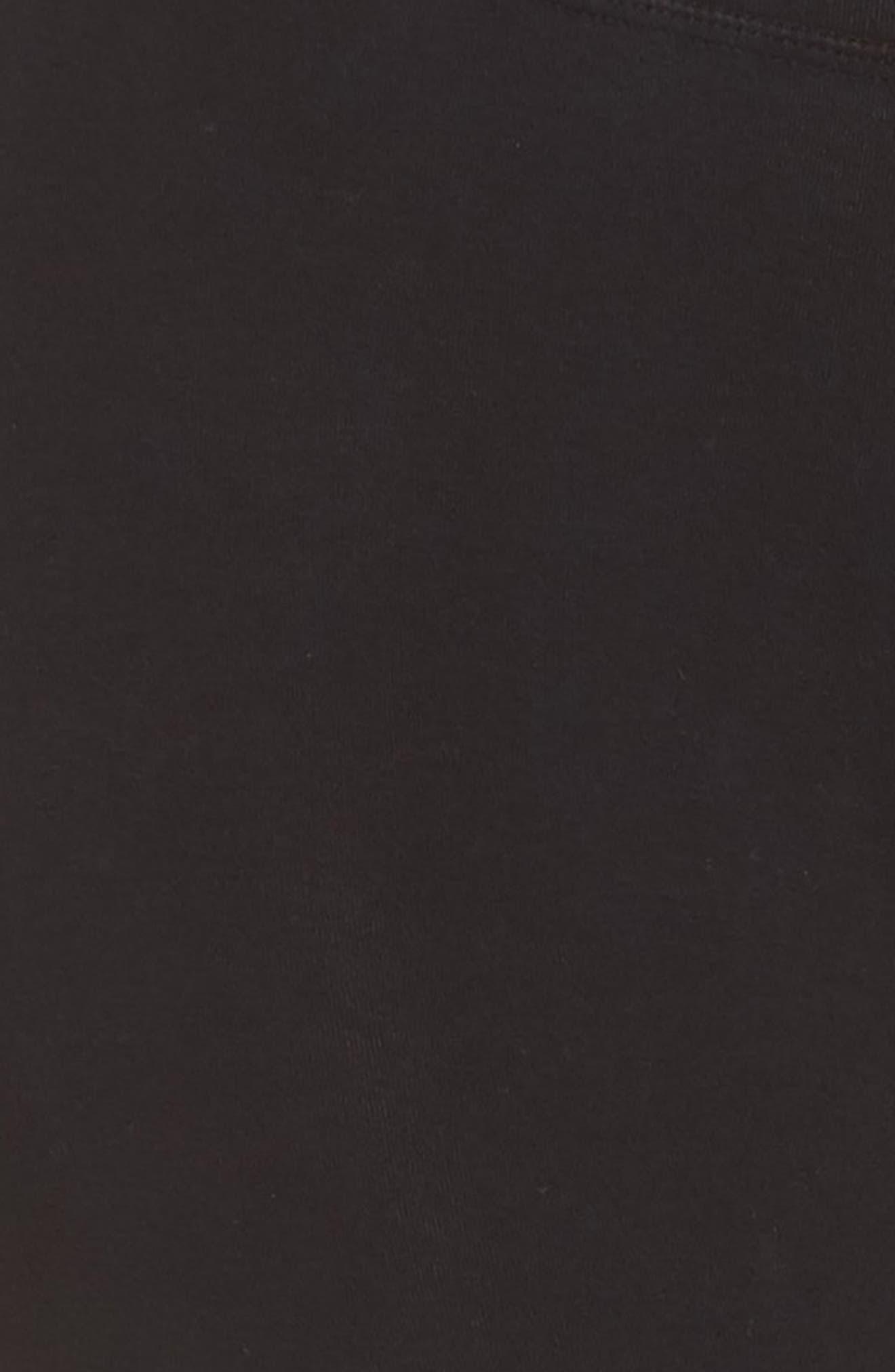 Sunrise Tie Dye Capri Leggings,                             Alternate thumbnail 6, color,                             STELLAR ONYX