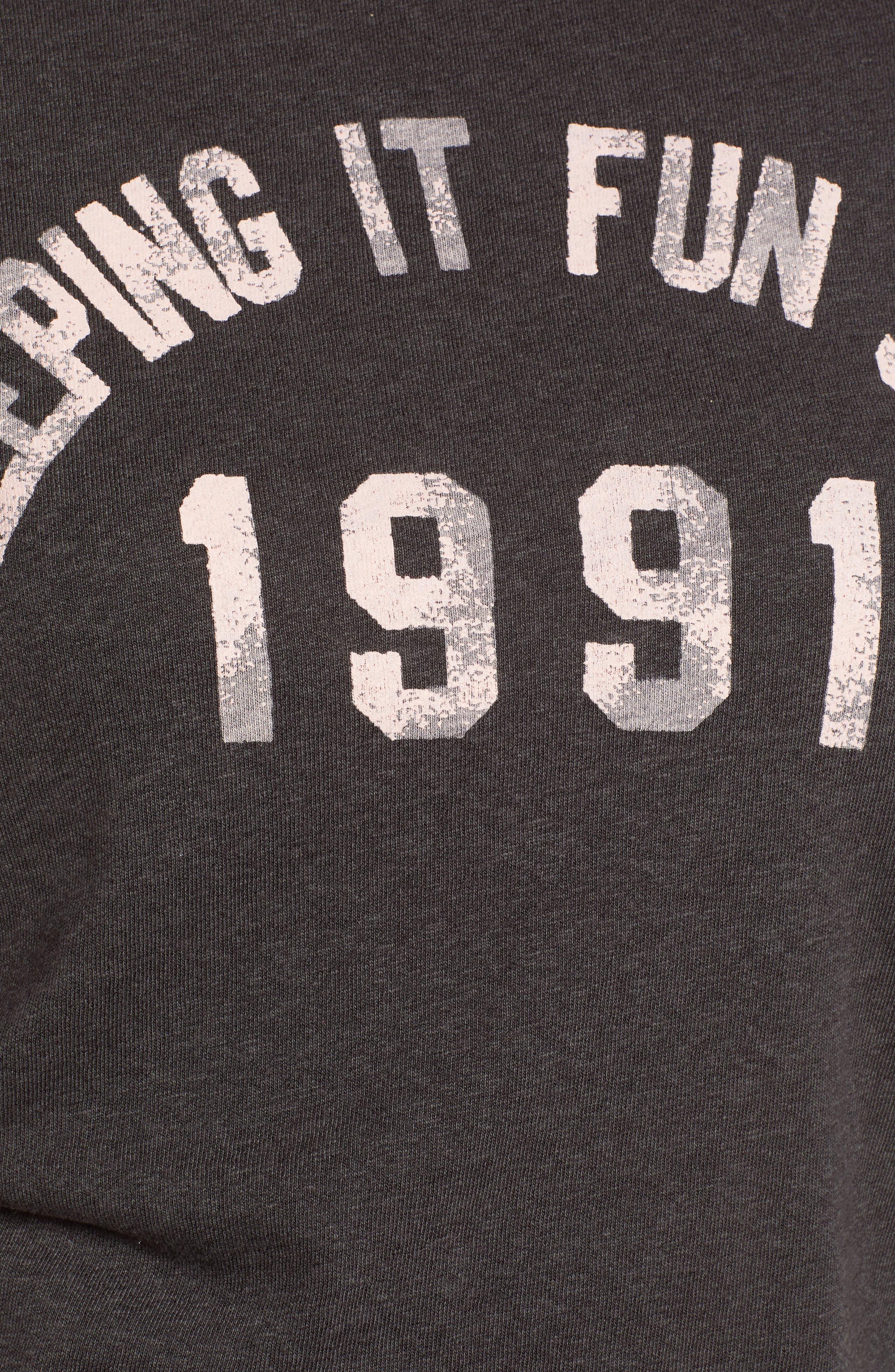 Keeping It Fun Since 1991 Tee,                             Alternate thumbnail 6, color,                             004