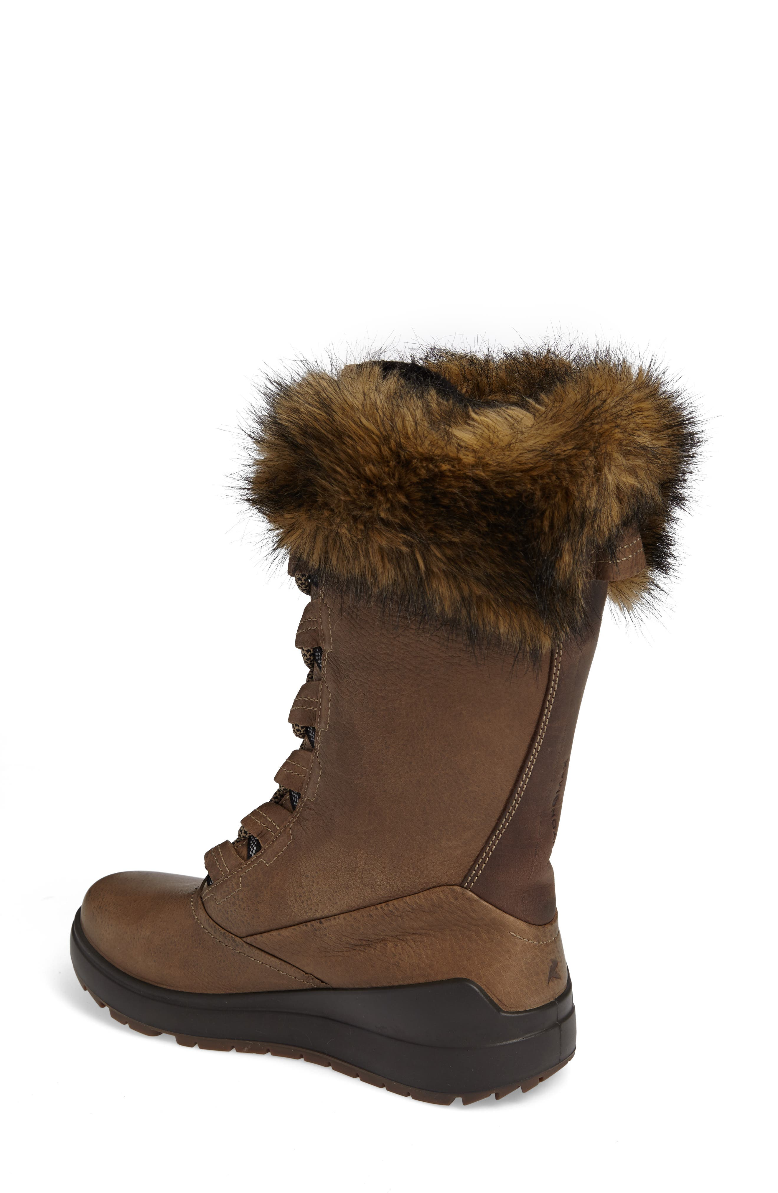 Noyce Siberia Hydromax Water Resistant Winter Boot with Faux Fur Trim,                             Alternate thumbnail 2, color,                             212