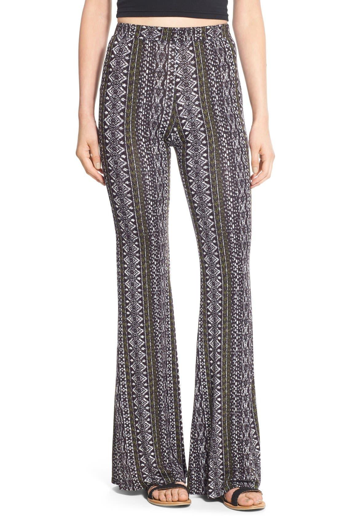 --- Print Flare Pants, Main, color, 960