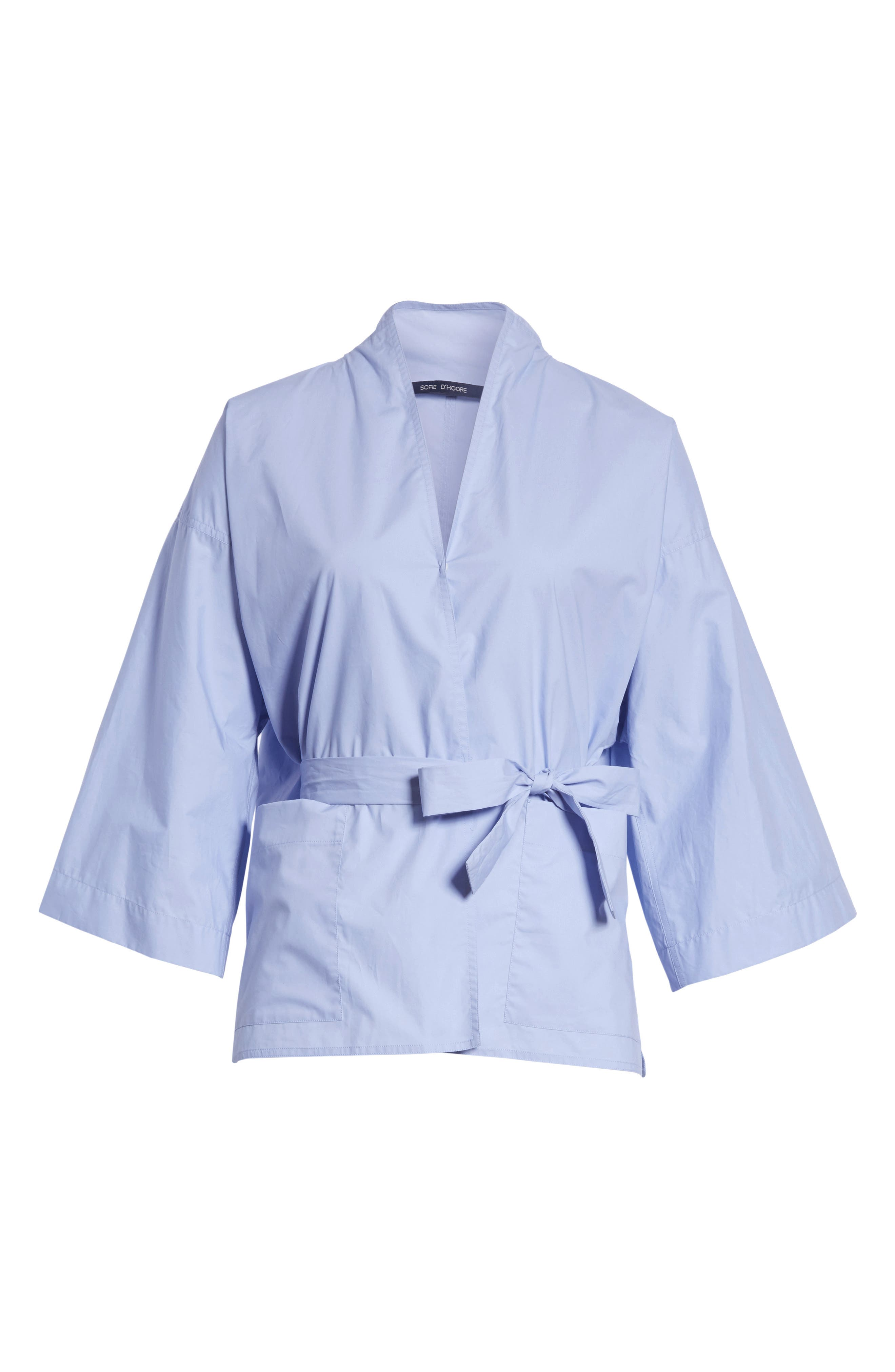 Belted Blouse,                             Alternate thumbnail 6, color,                             400
