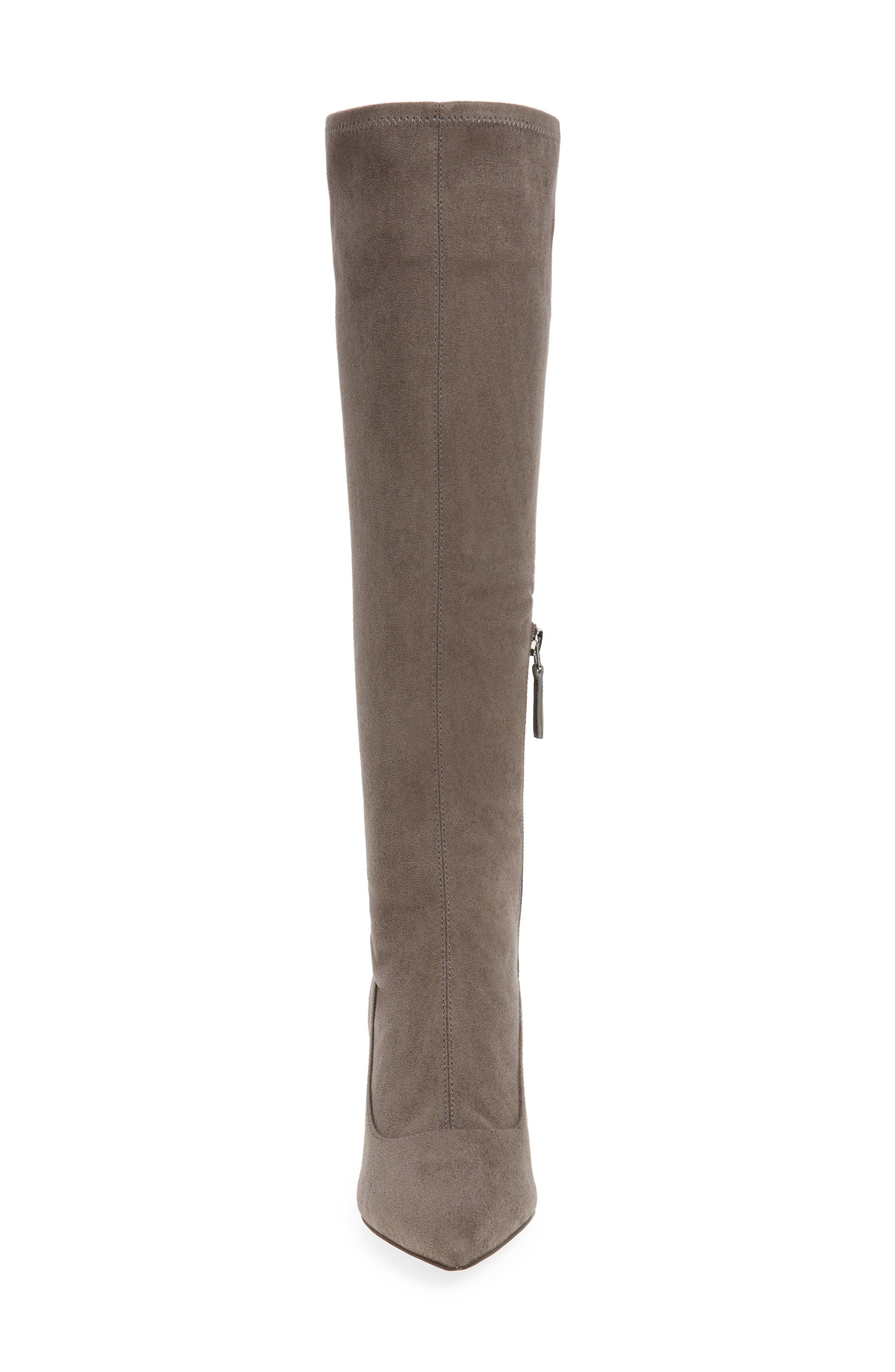 Carrara Knee High Pointy Toe Boot,                             Alternate thumbnail 8, color,