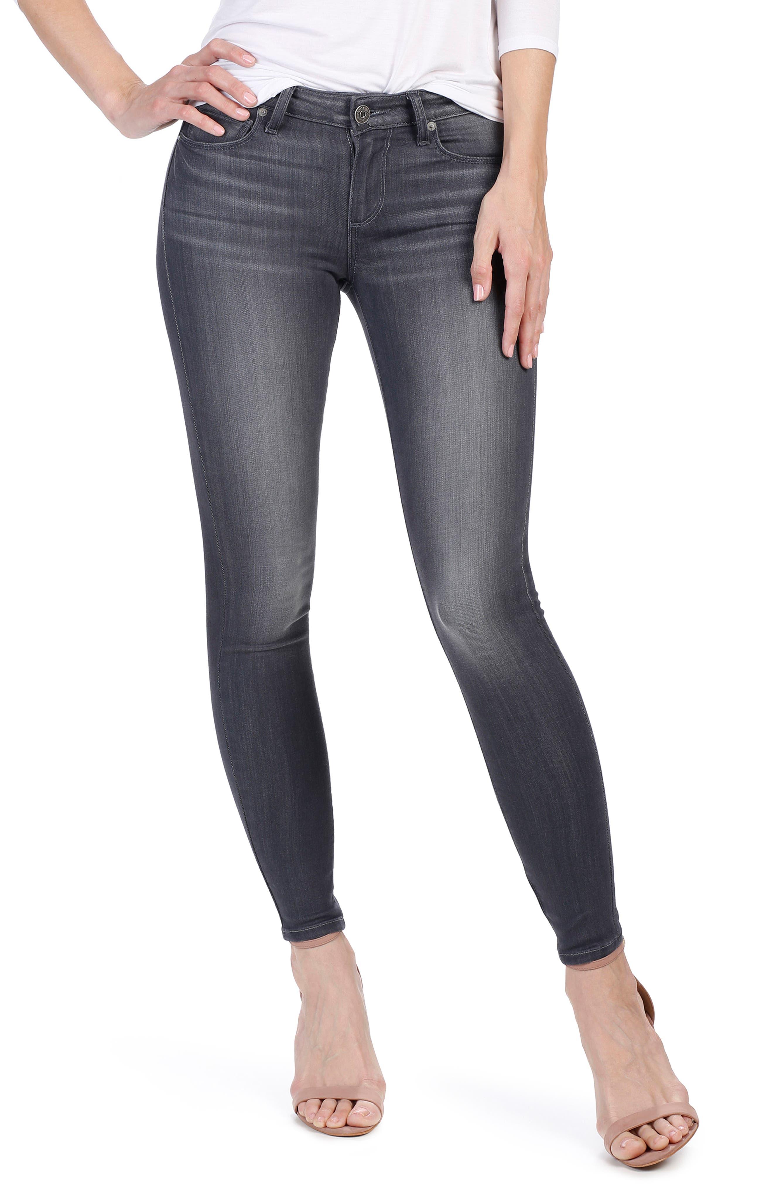 Transcend - Verdugo Ankle Skinny Jeans,                         Main,                         color, 020