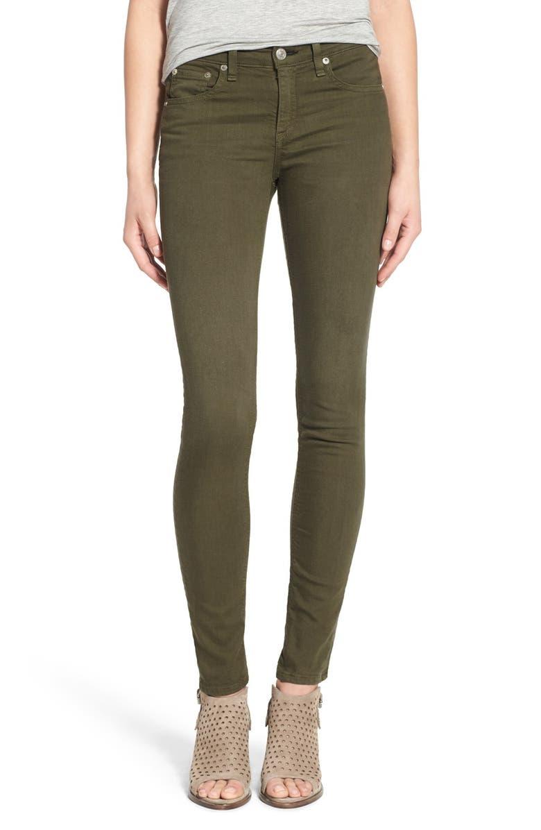 fa9a4490f45 rag   bone JEAN Skinny Jeans (Distressed Army)