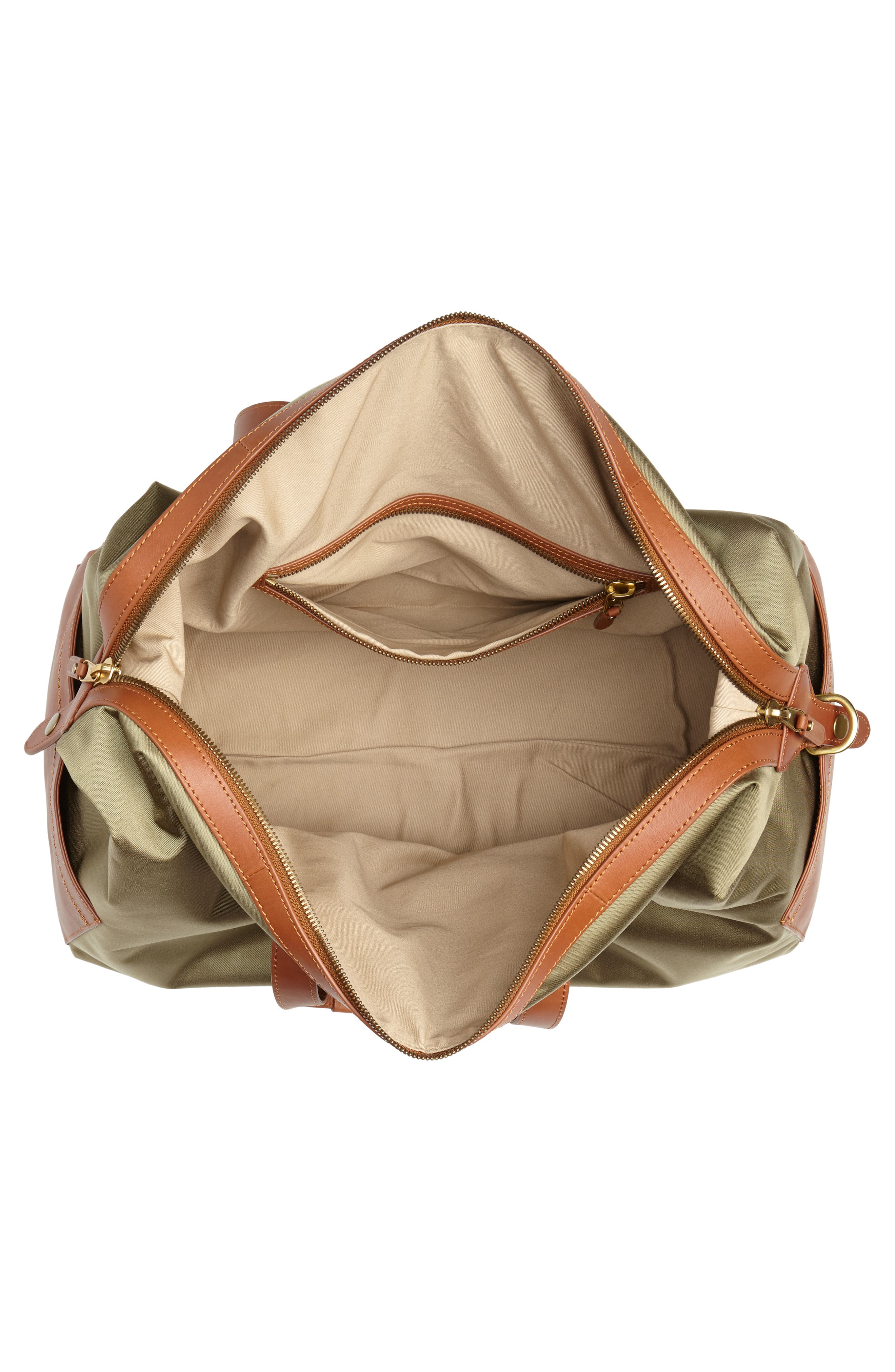 J.CREW,                             Oar Stripe Weekend Bag,                             Alternate thumbnail 4, color,                             300