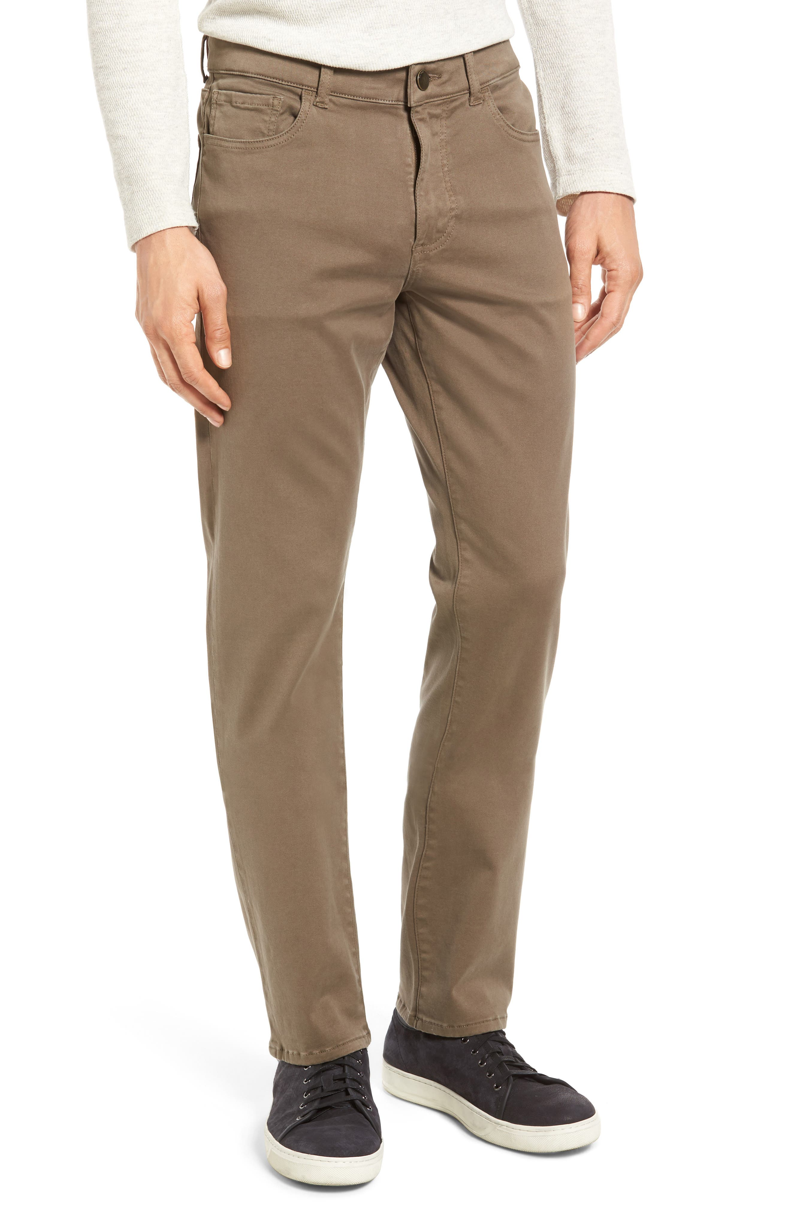 DL1961 1961 Russell Slim Fit Sateen Twill Pants in Coyote