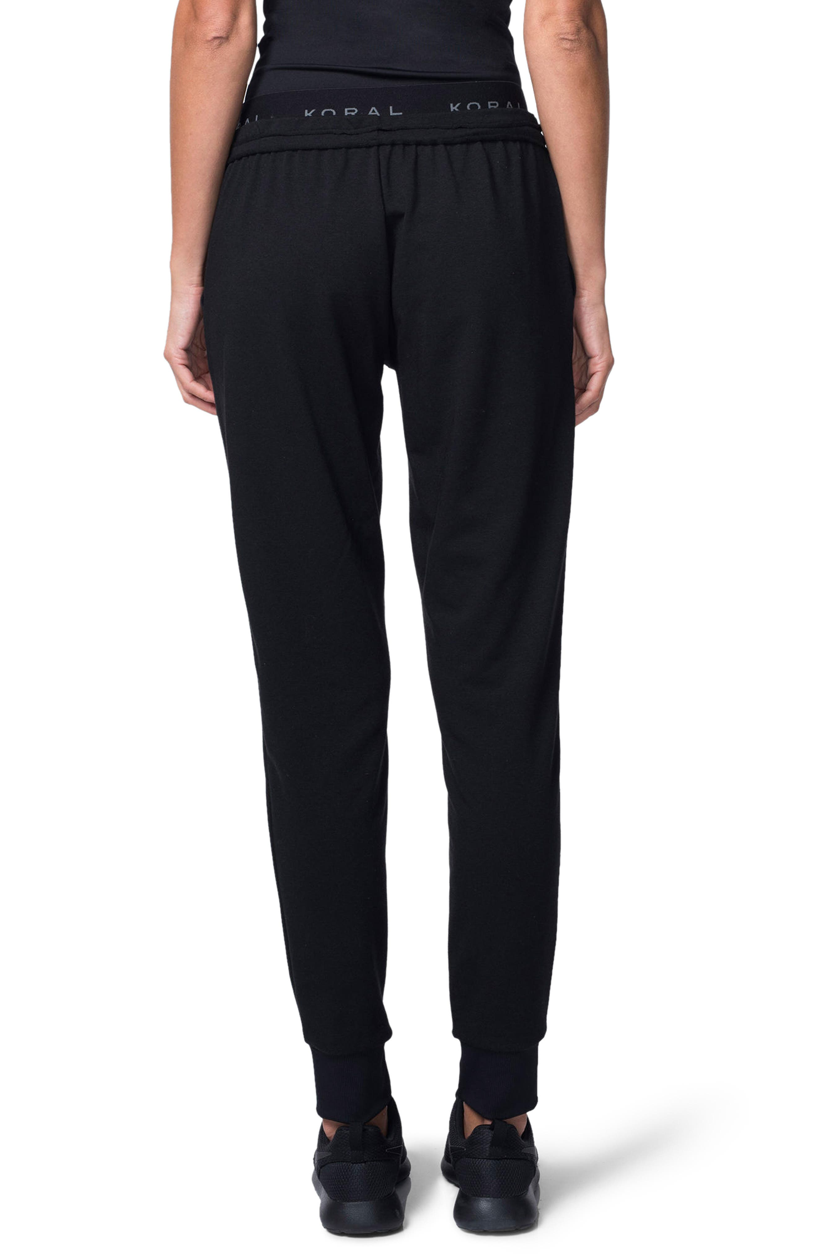 Station French Terry Pants,                             Alternate thumbnail 2, color,                             001