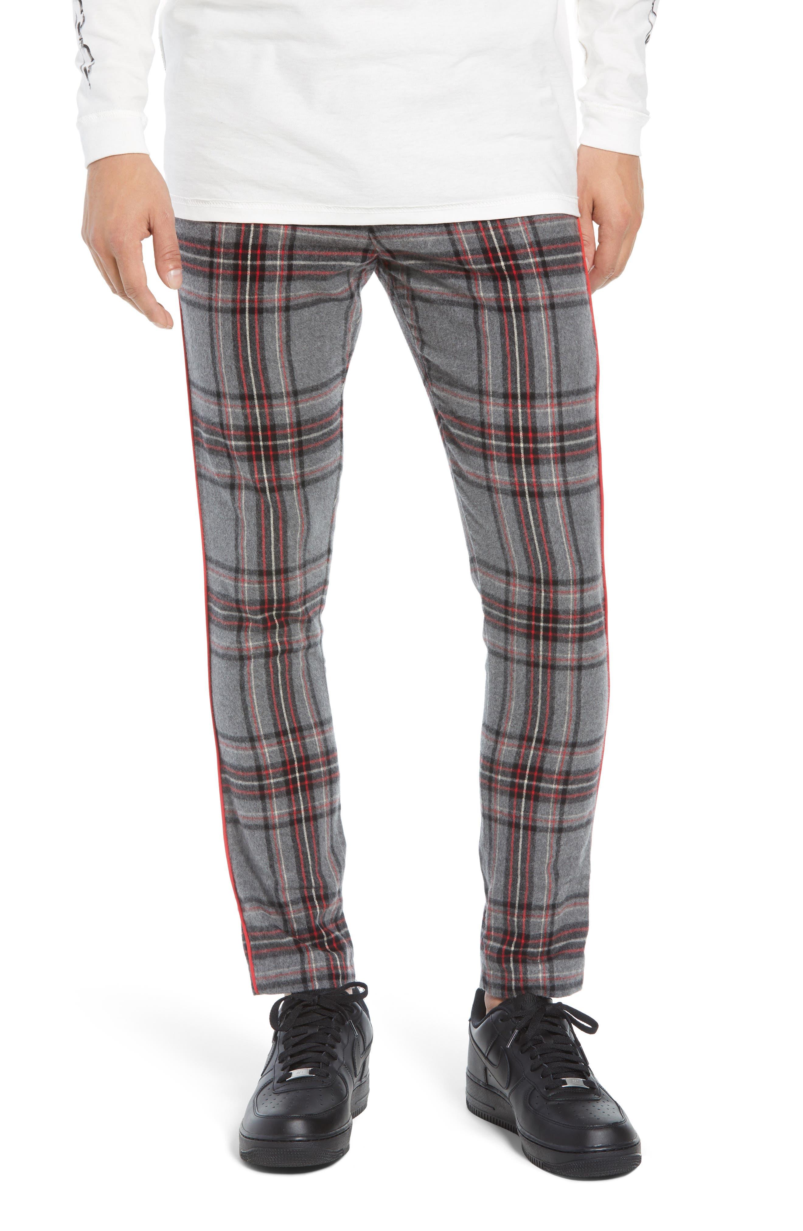 Tartan Smoking Pants,                         Main,                         color, TARTAN