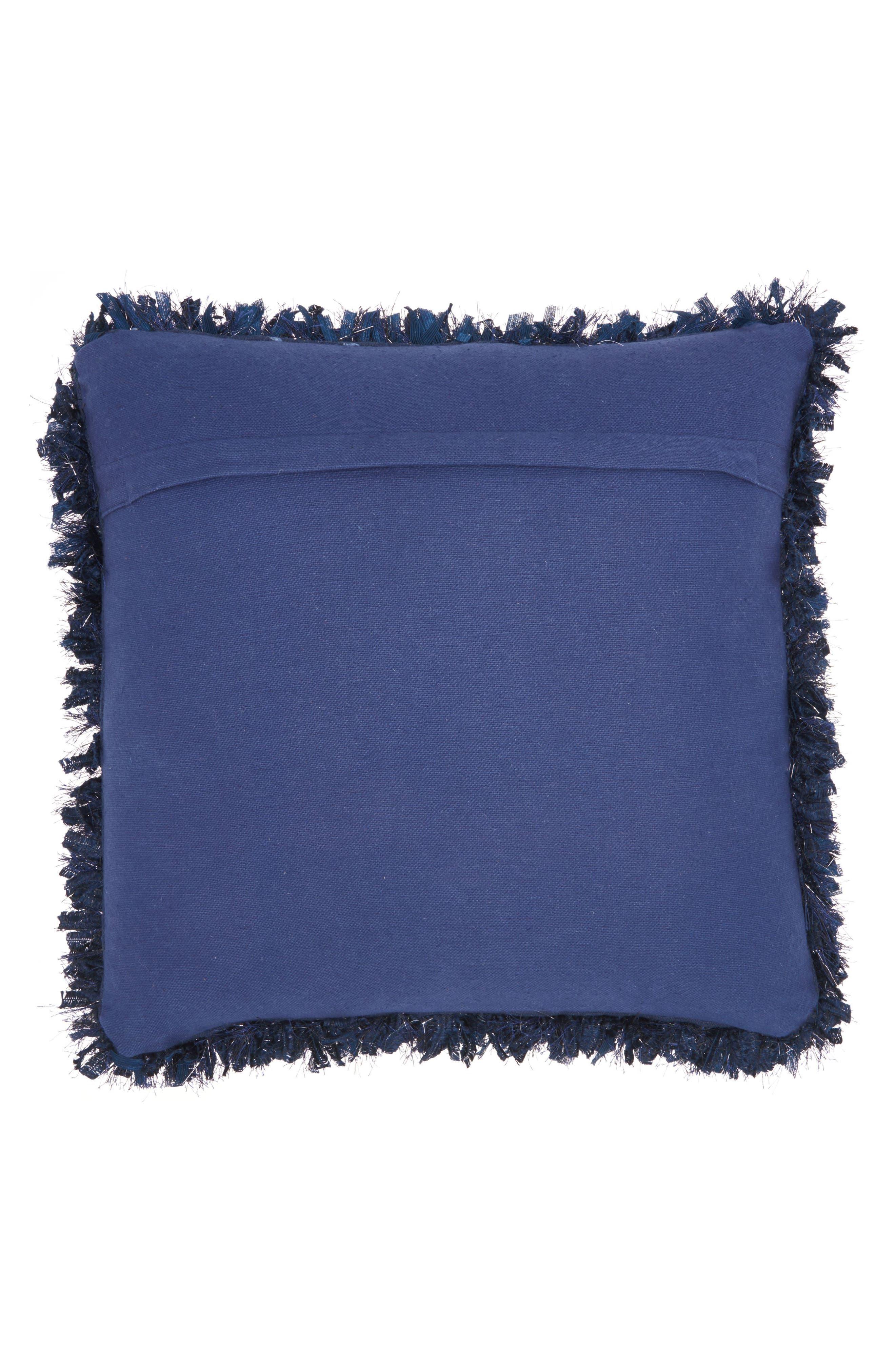 'Shiny' Shag Pillow,                             Alternate thumbnail 2, color,                             400
