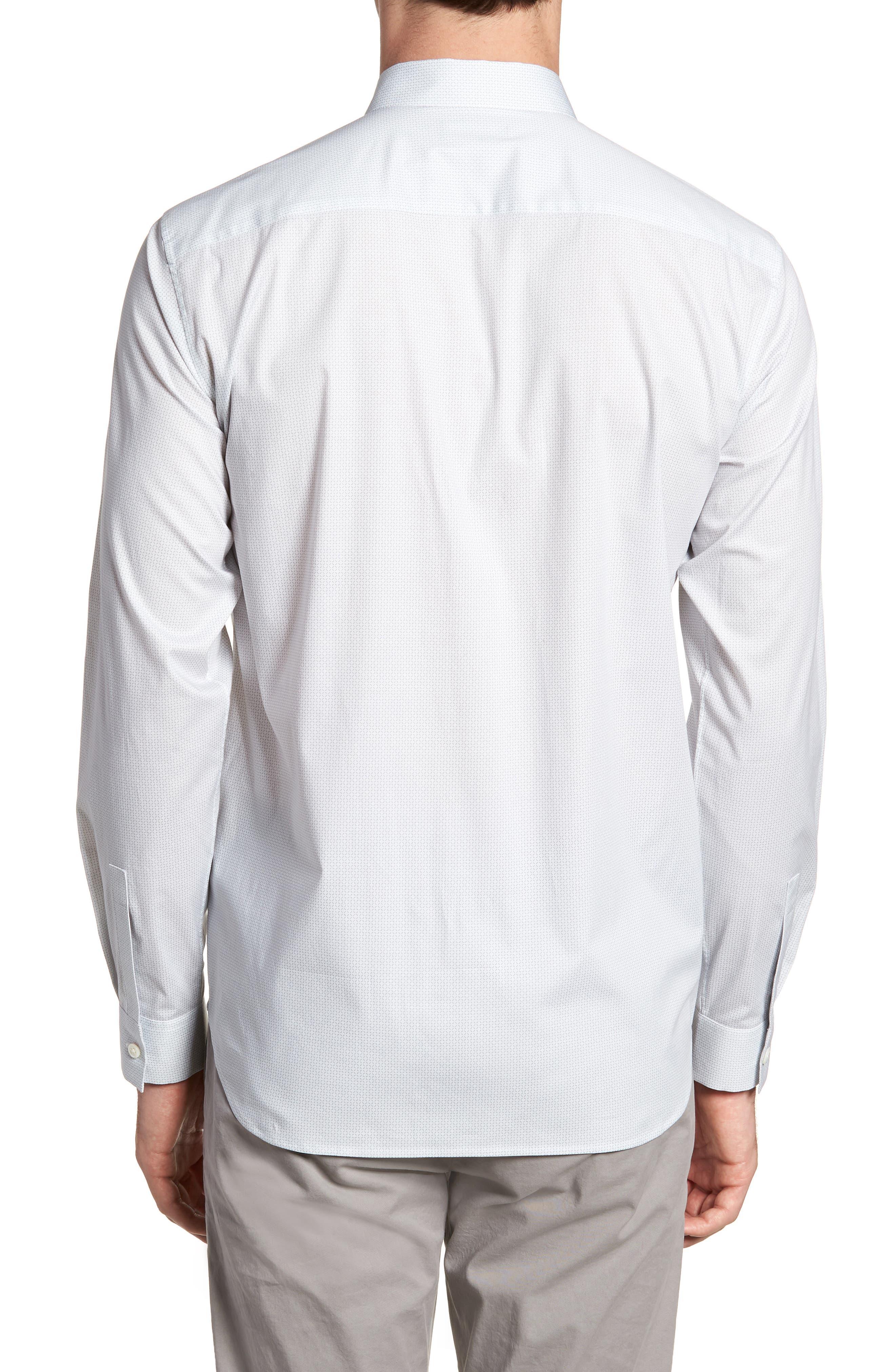 Irving Sillar Slim Fit Sport Shirt,                             Alternate thumbnail 2, color,                             097