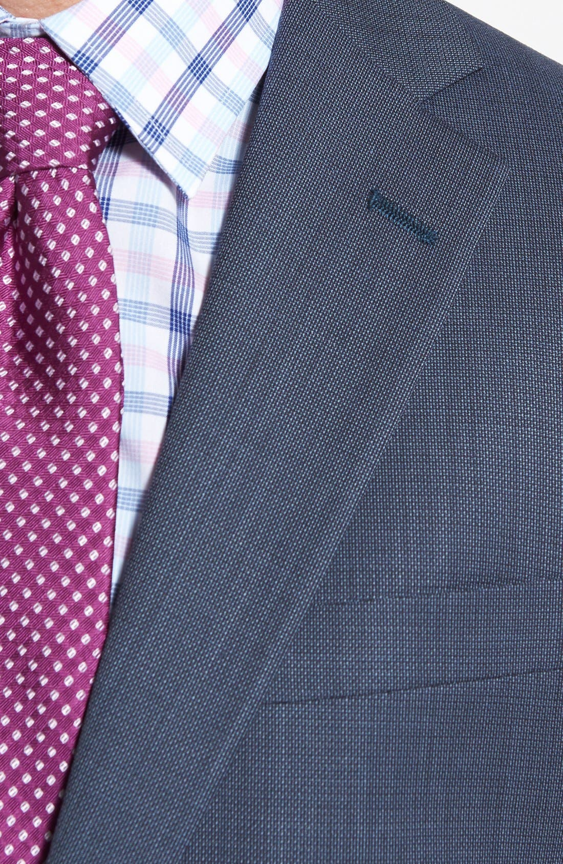 NY 2BTN SV FF CLASSIC FIT SUIT,                             Alternate thumbnail 4, color,                             429