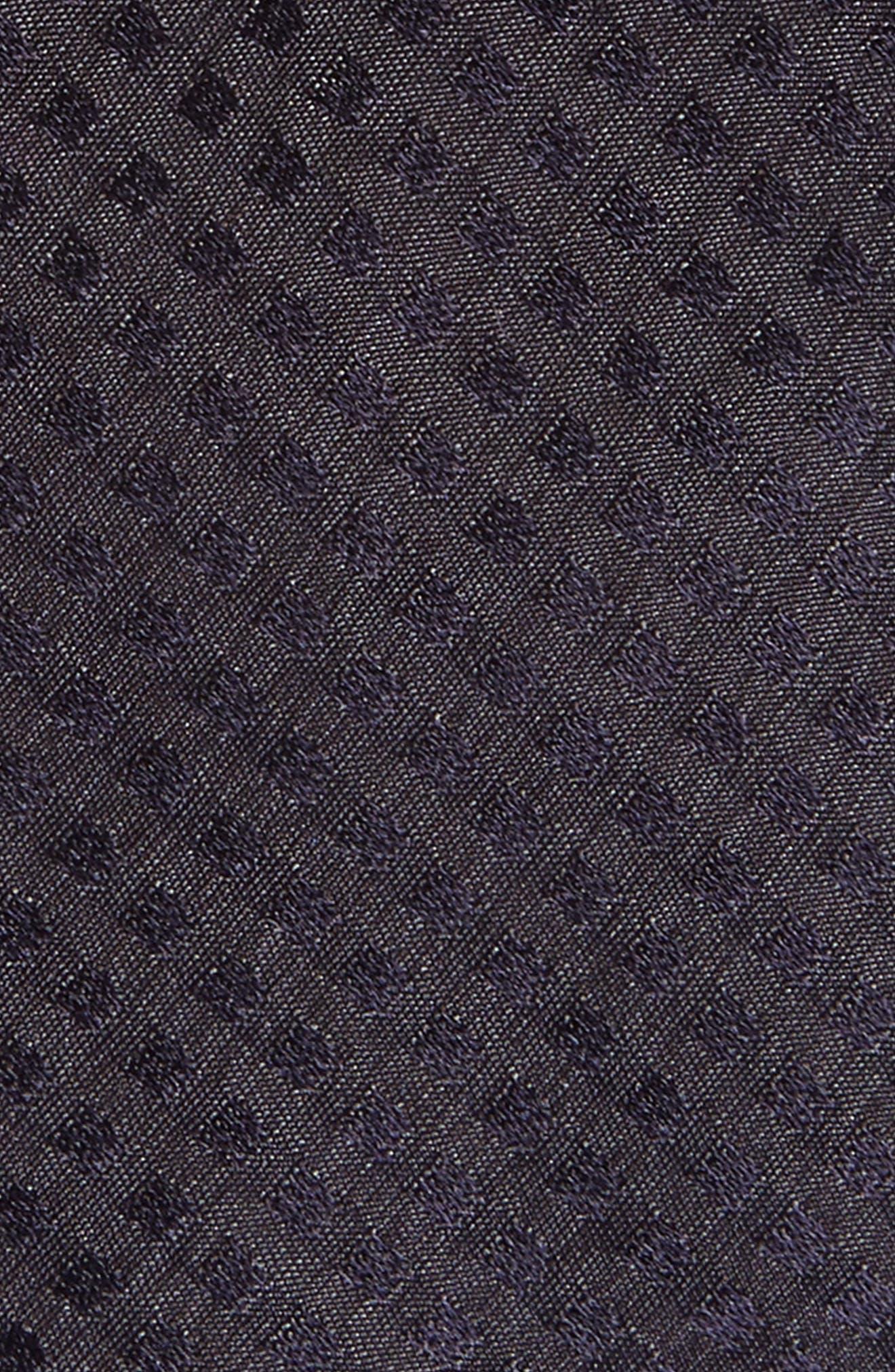 Dot Skinny Silk Tie,                             Alternate thumbnail 2, color,                             410