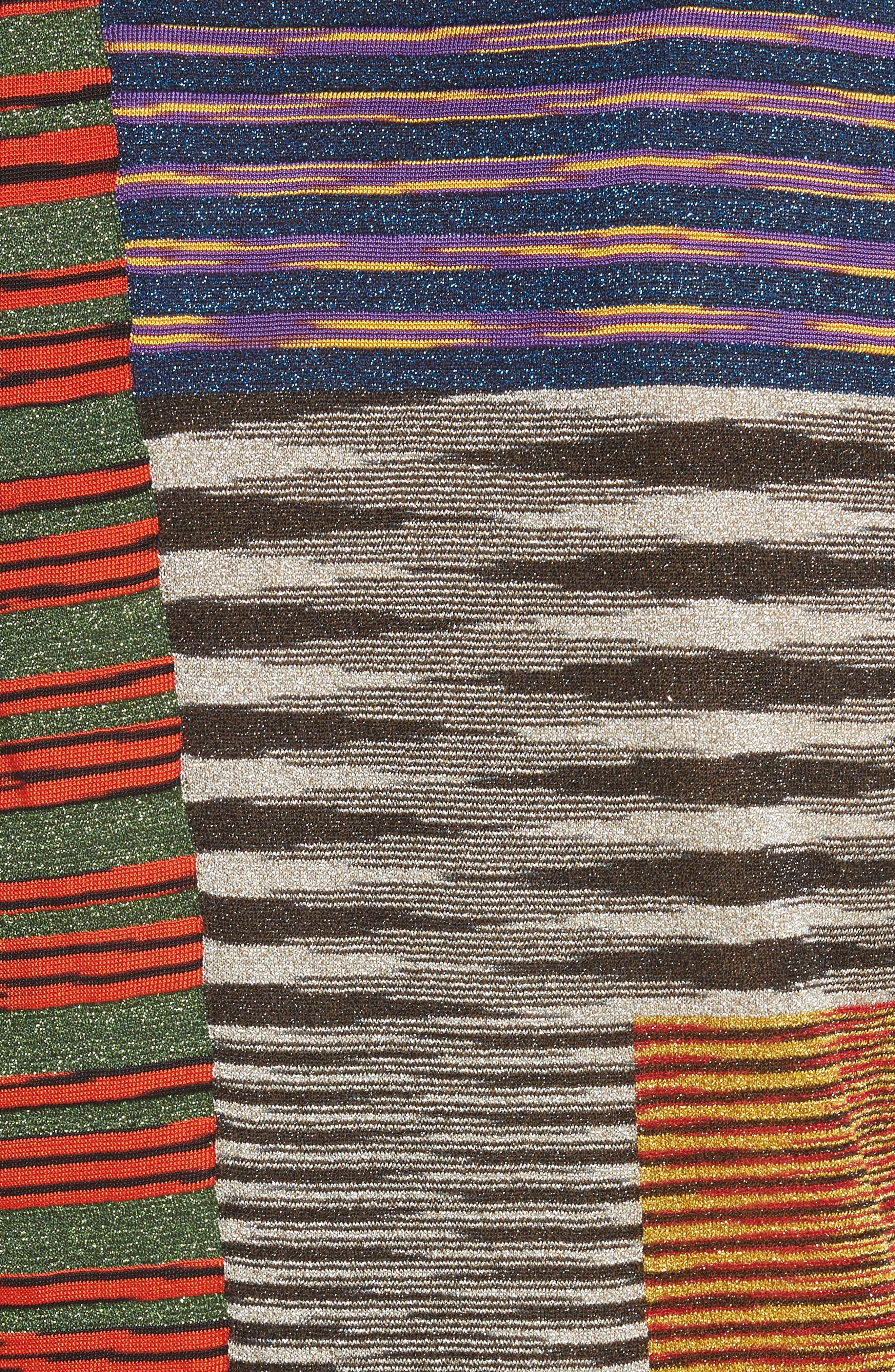 Stripe Space Dye Knit Tank,                             Alternate thumbnail 5, color,                             540