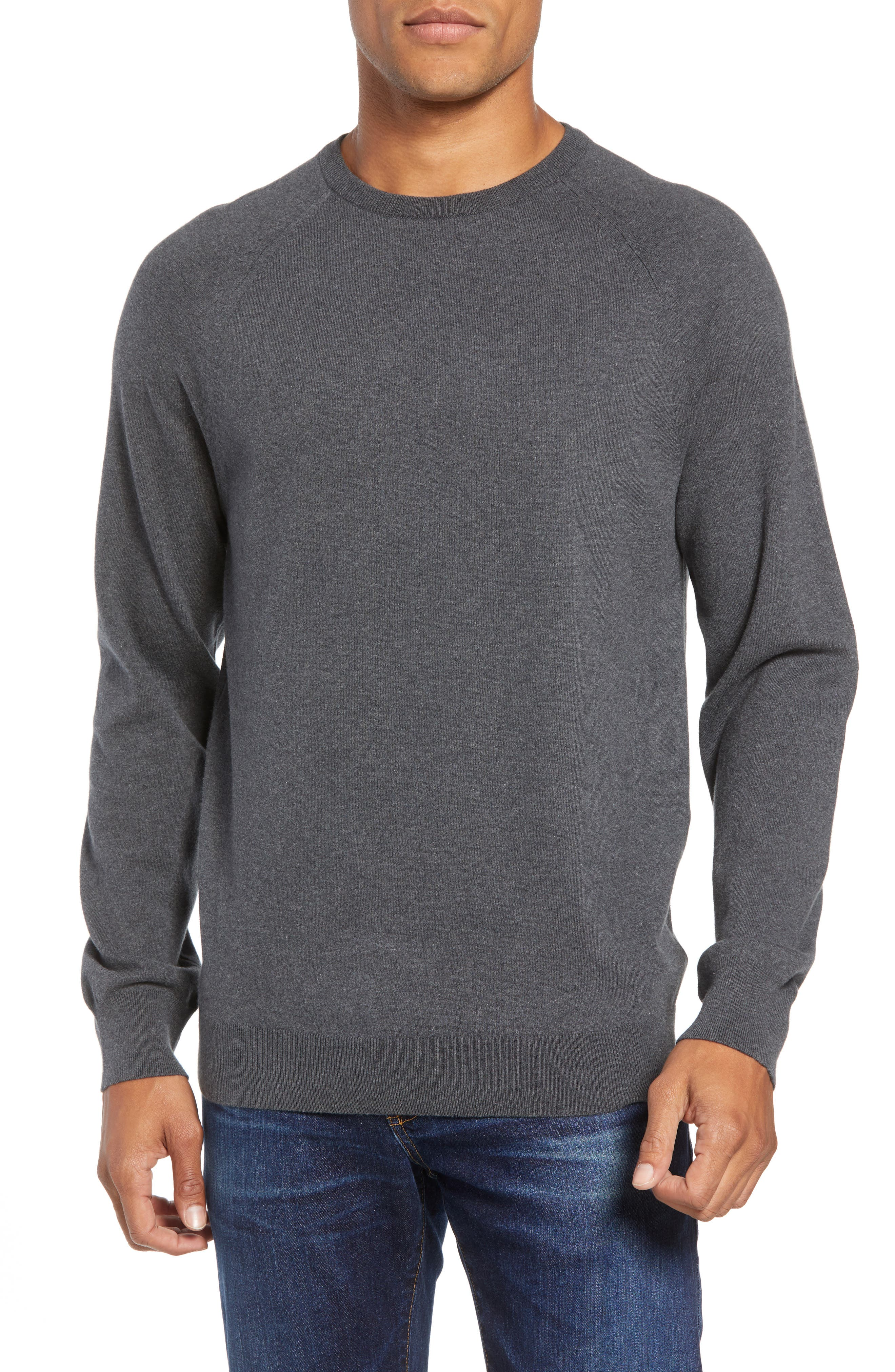 French Connection Regular Fit Crewneck Sweater, Grey
