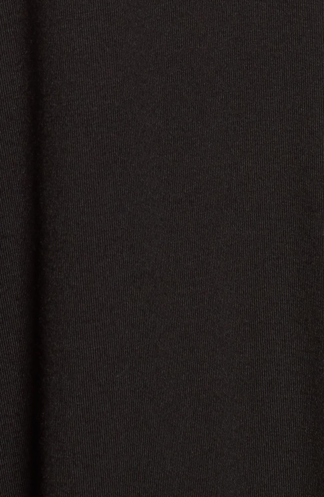 Maxi Dress,                             Alternate thumbnail 7, color,                             BLACK