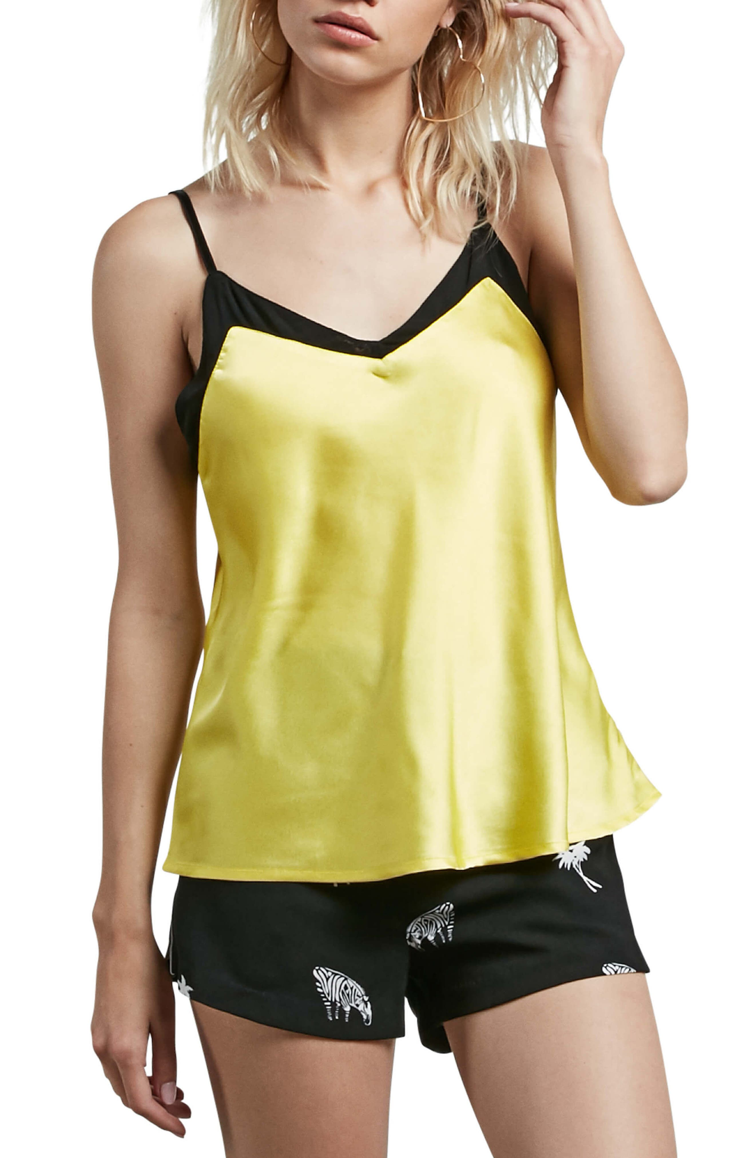 It's Happening Satin Camisole,                         Main,                         color, 734