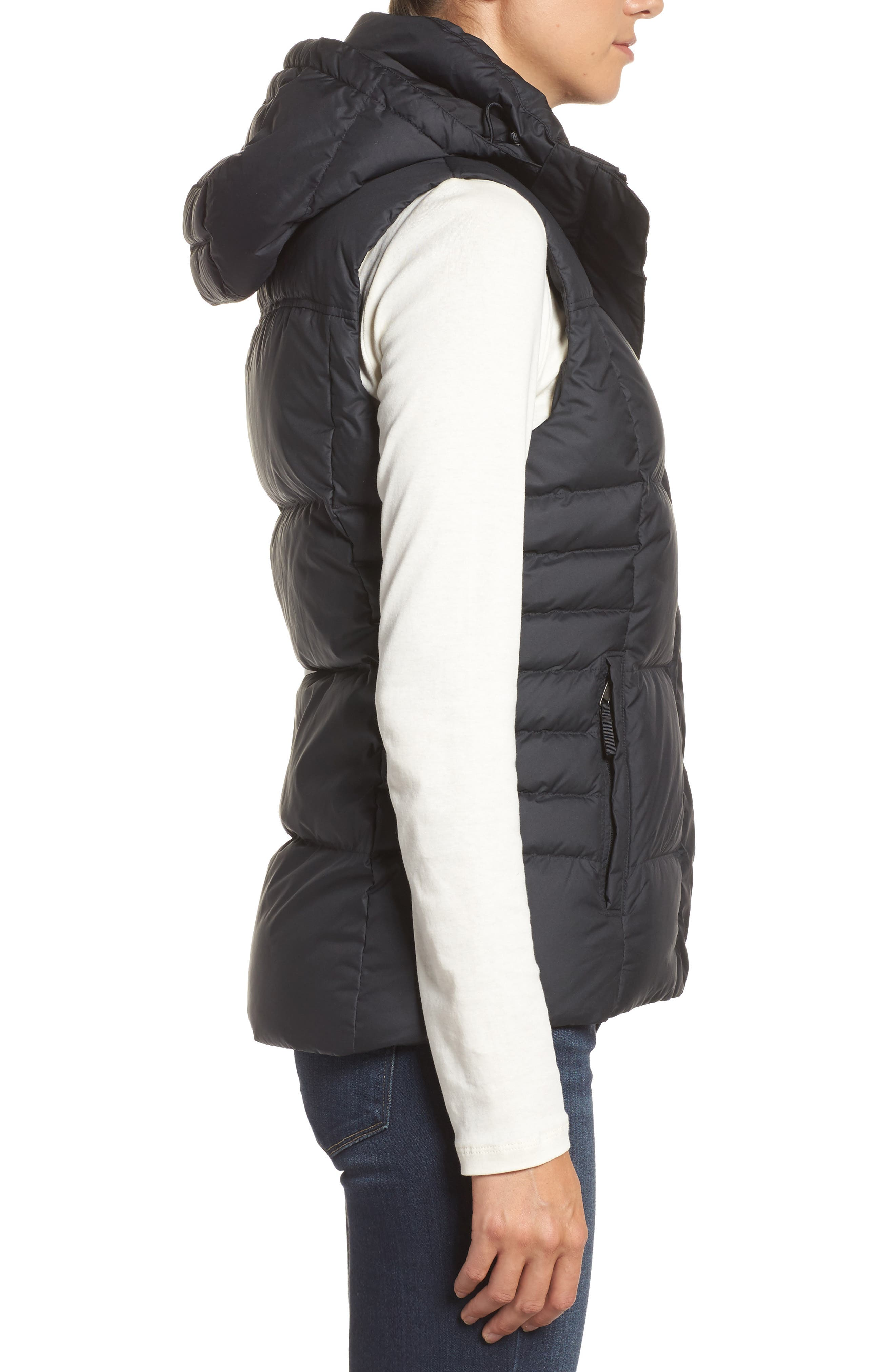 Down with It Hooded Down Vest,                             Alternate thumbnail 3, color,                             001