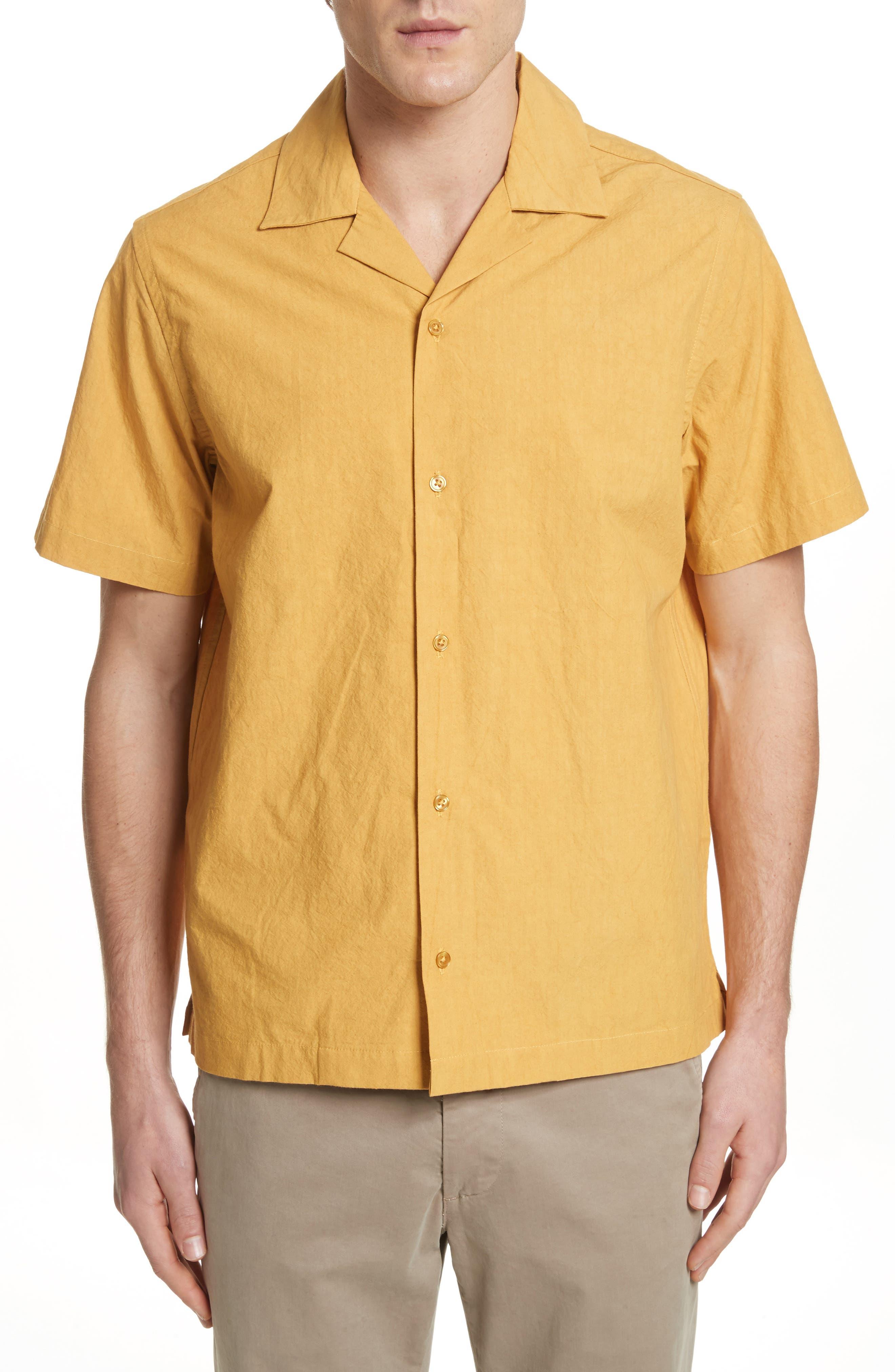 Canty Woven Camp Shirt,                             Main thumbnail 1, color,                             725