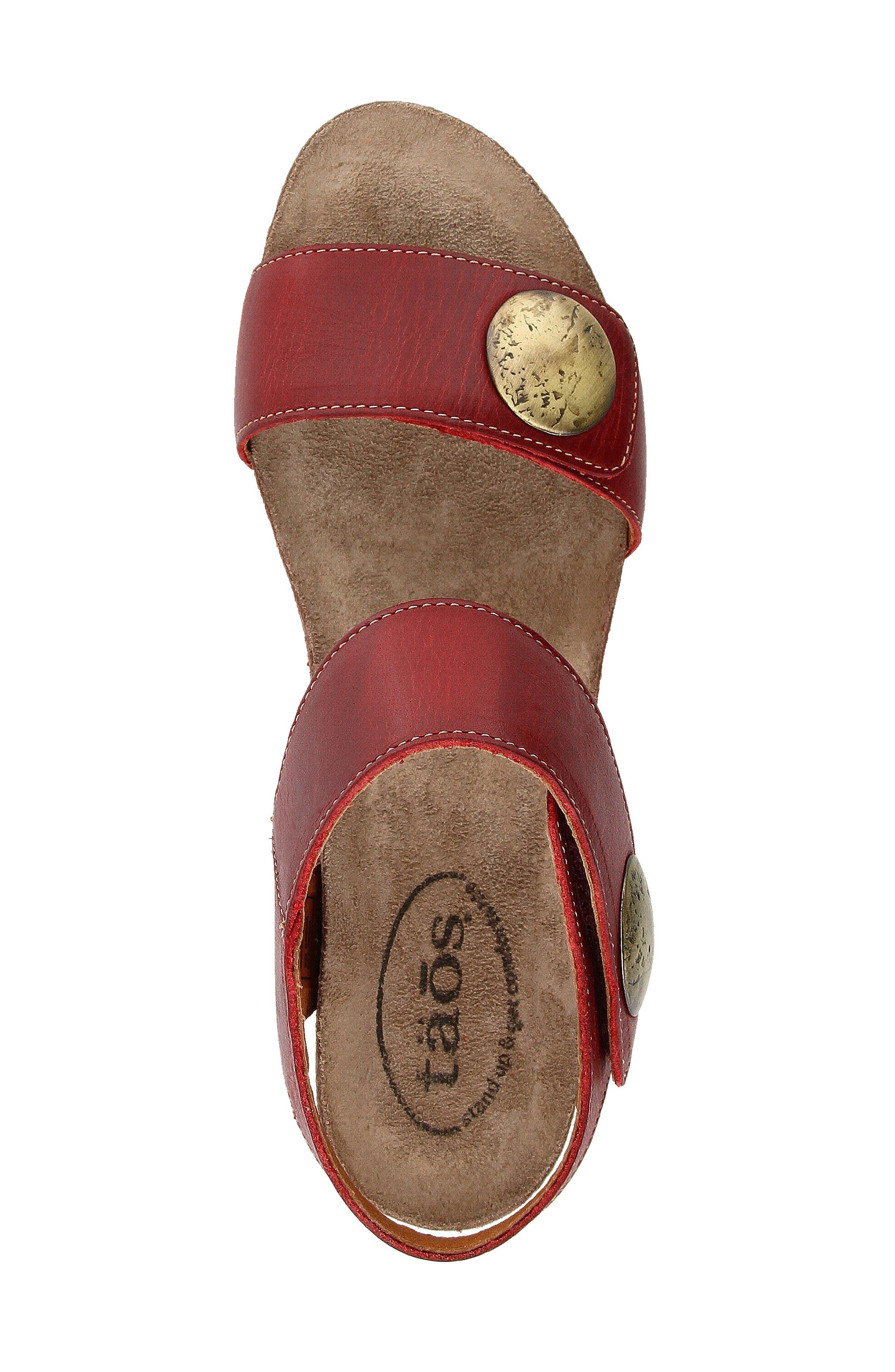 'Carousel 2' Wedge Sandal,                             Alternate thumbnail 45, color,