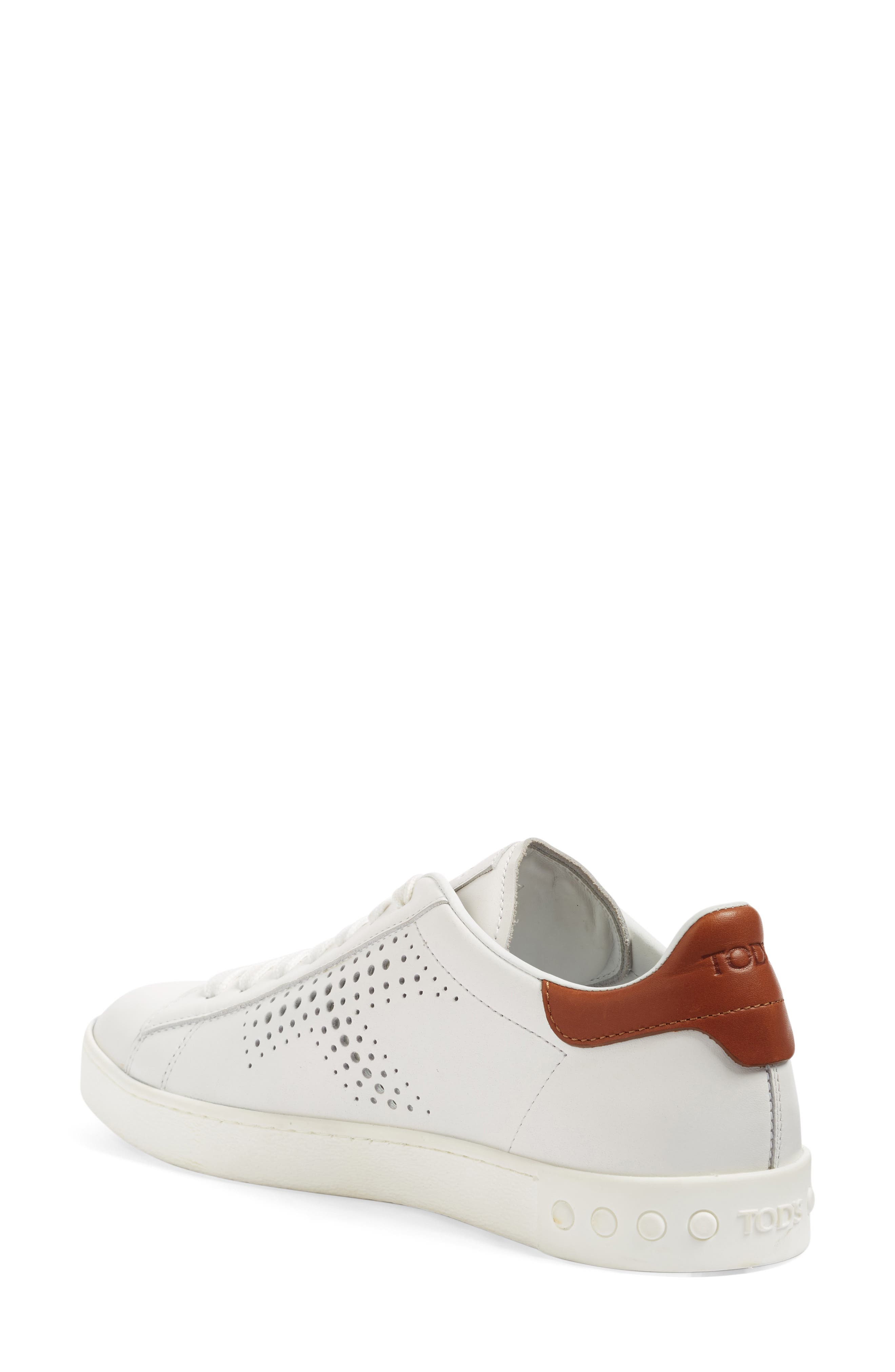 Perforated T Sneaker,                             Alternate thumbnail 4, color,