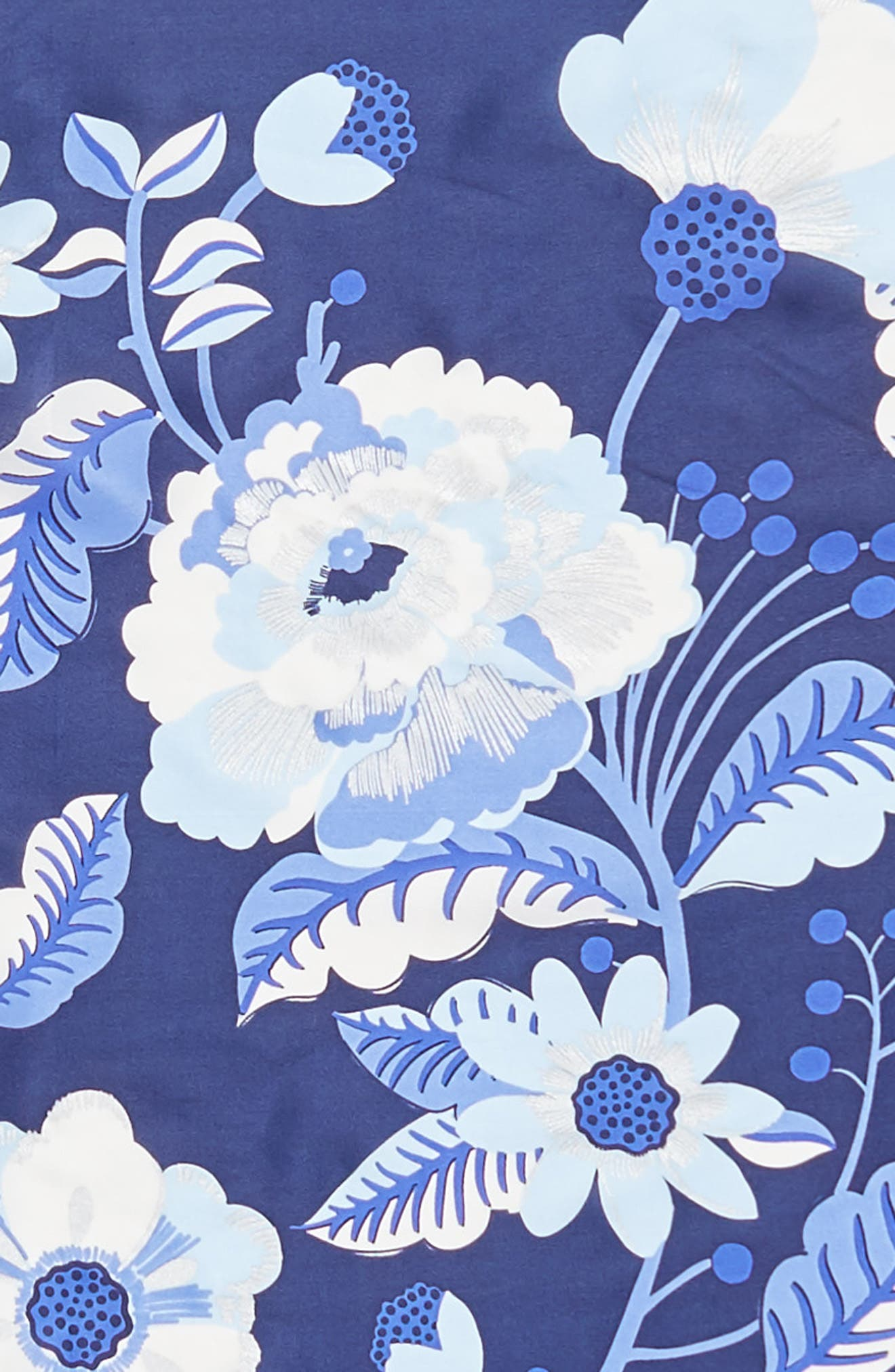 Bloomsbury Square Silk Scarf,                             Alternate thumbnail 4, color,                             411