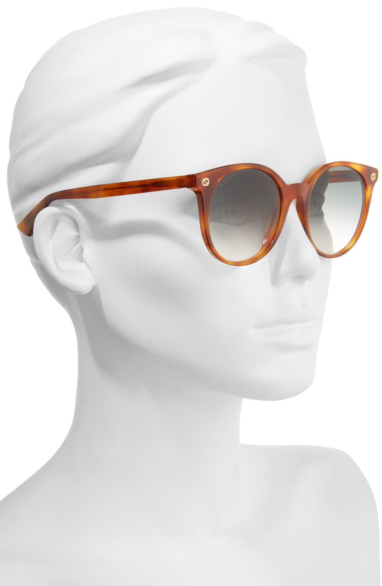 52mm Round Sunglasses,                             Alternate thumbnail 7, color,