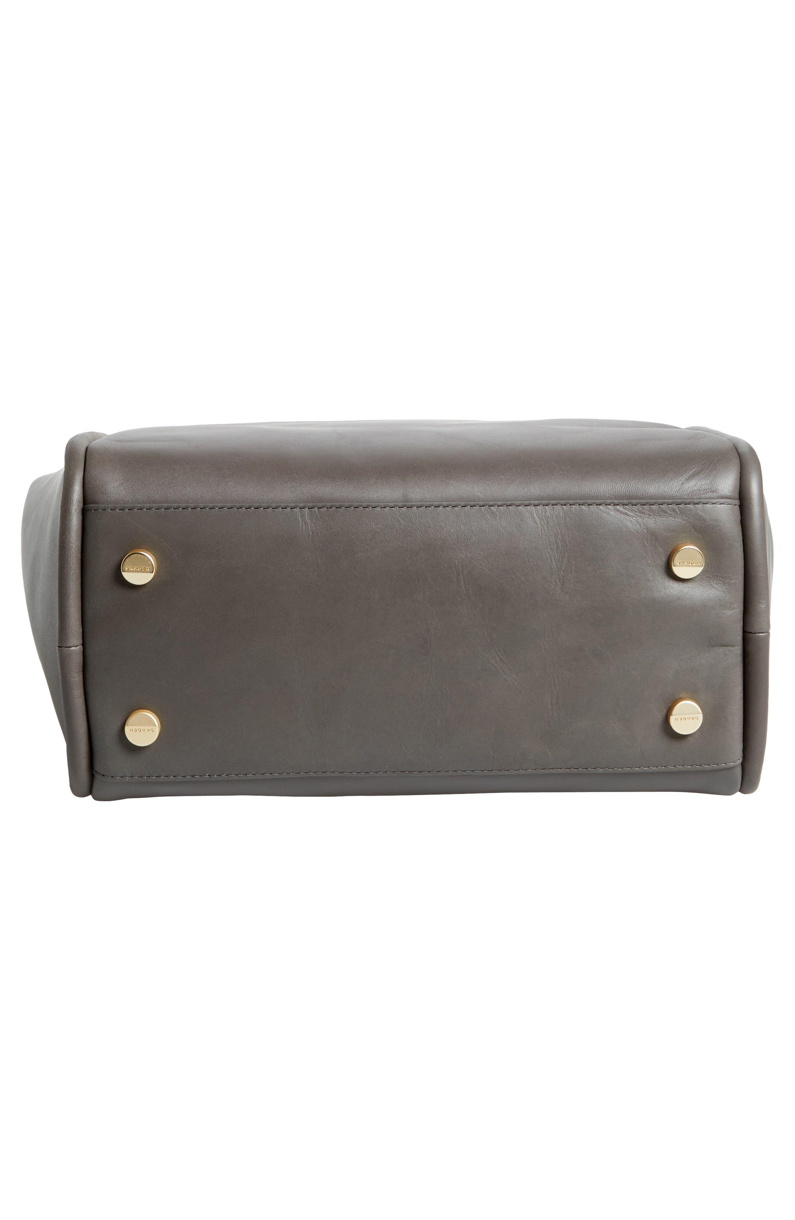 Karalie Leather Shoulder Bag,                             Alternate thumbnail 17, color,
