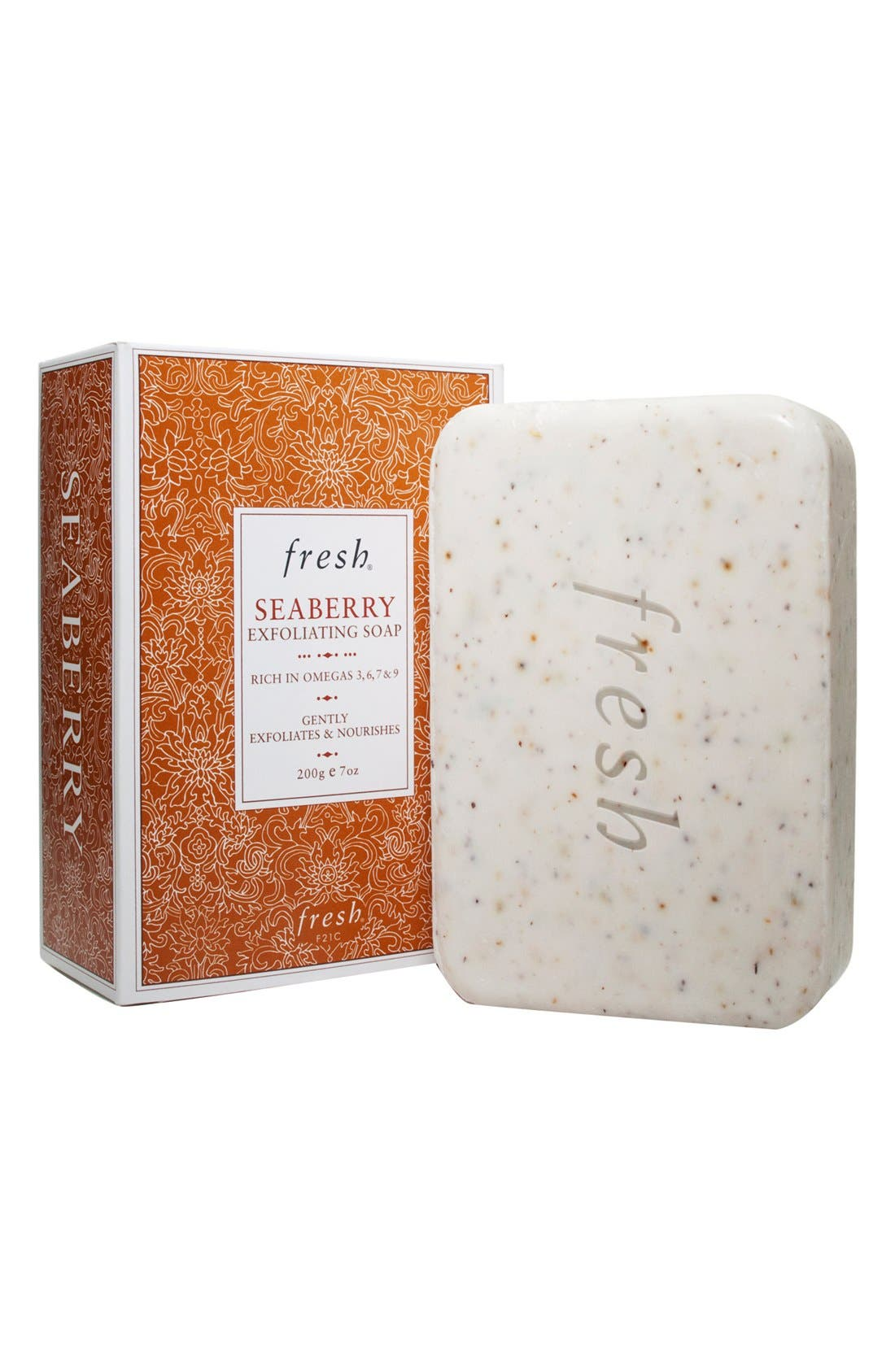 Seaberry Exfoliating Soap,                             Main thumbnail 1, color,                             SEABERRY