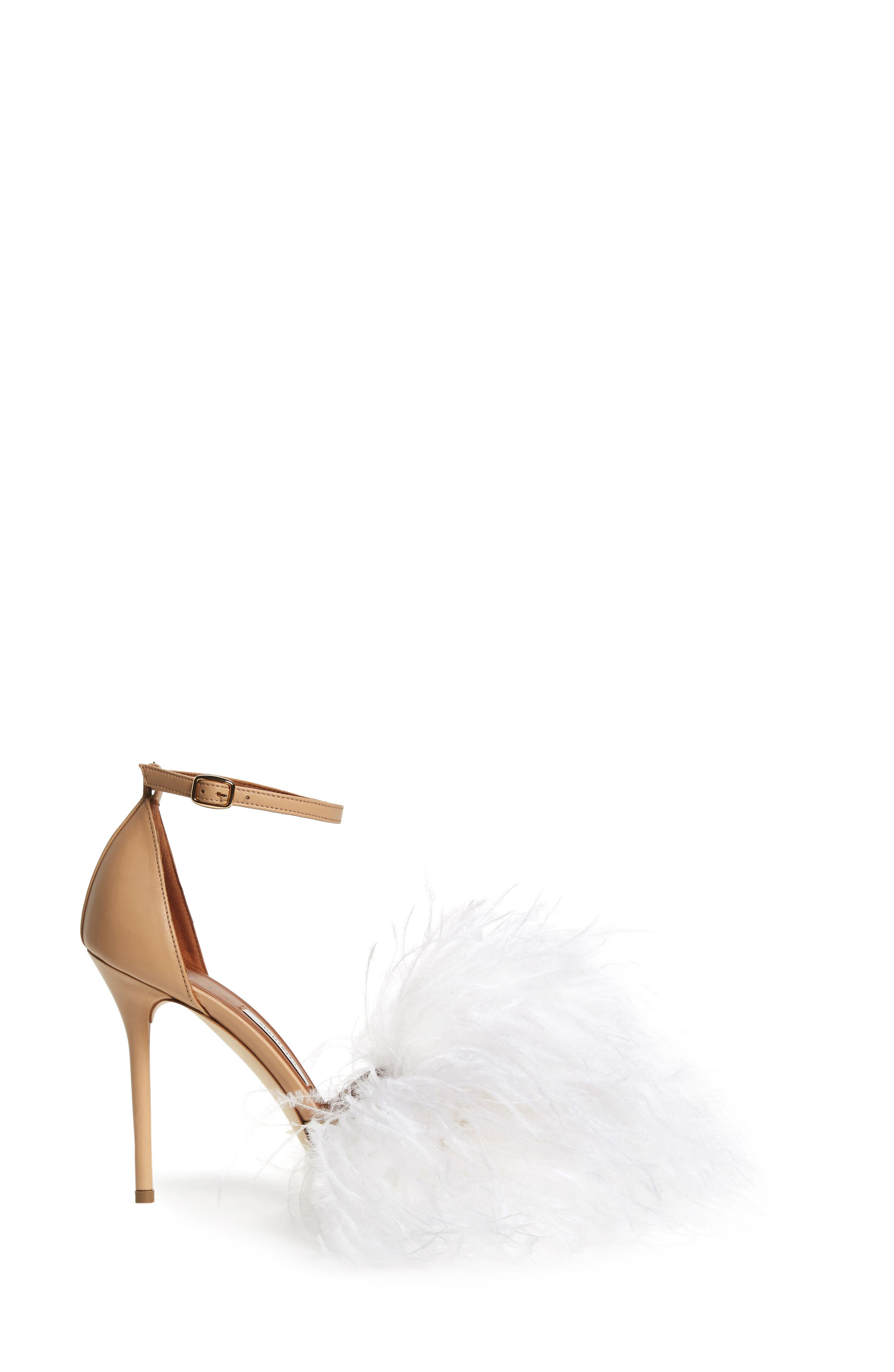 MALONE SOULIERS,                             Nicoletta Feather Sandal,                             Alternate thumbnail 3, color,                             250