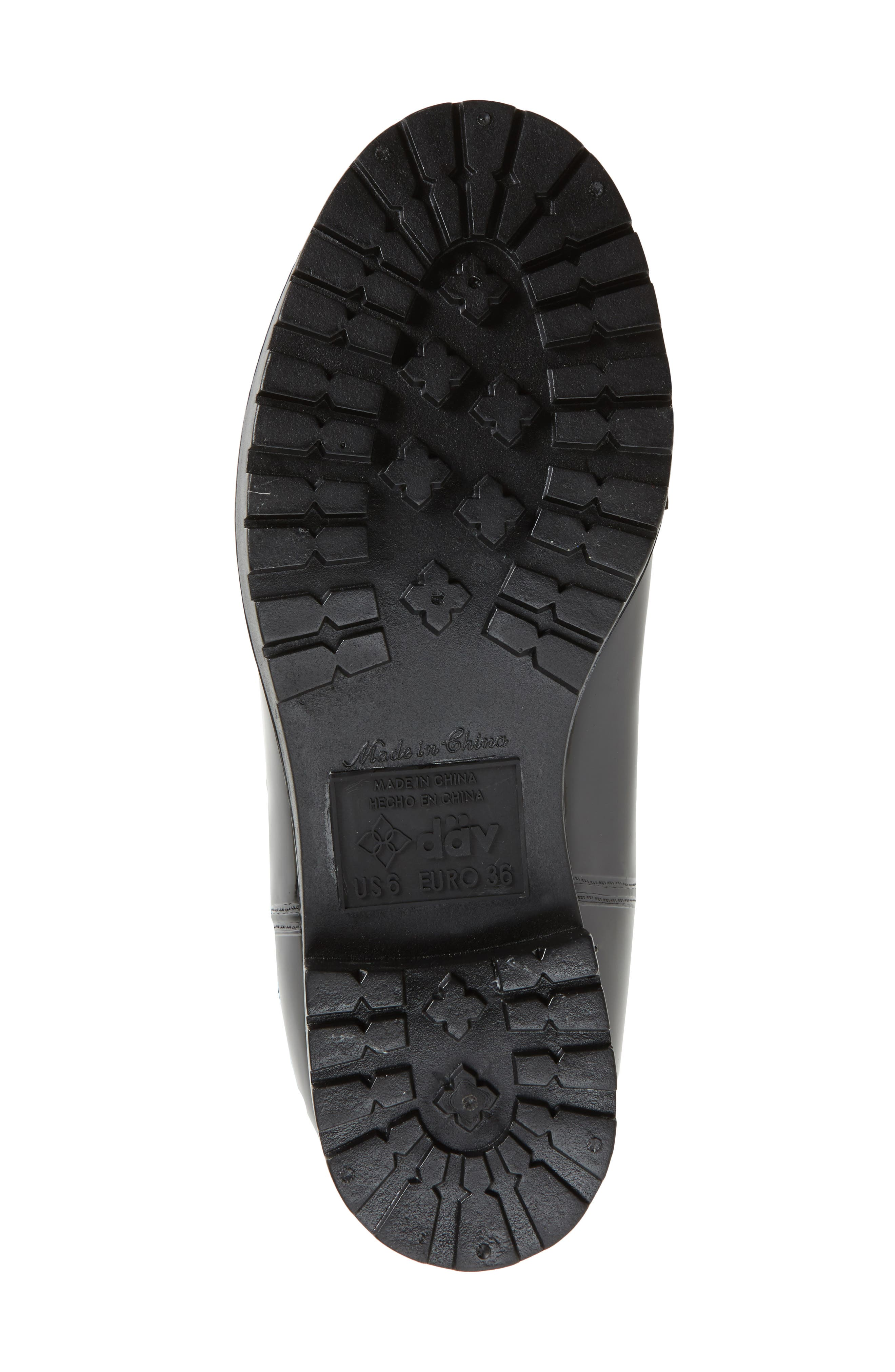 Calgary Faux Shearling Water Resistant Boot,                             Alternate thumbnail 6, color,                             BLACK