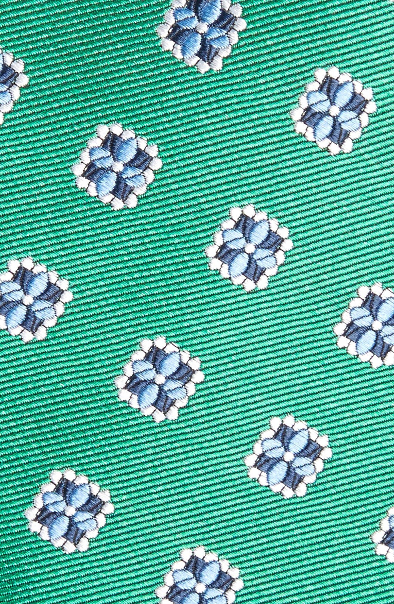 Medallion Silk Tie,                             Alternate thumbnail 2, color,                             322