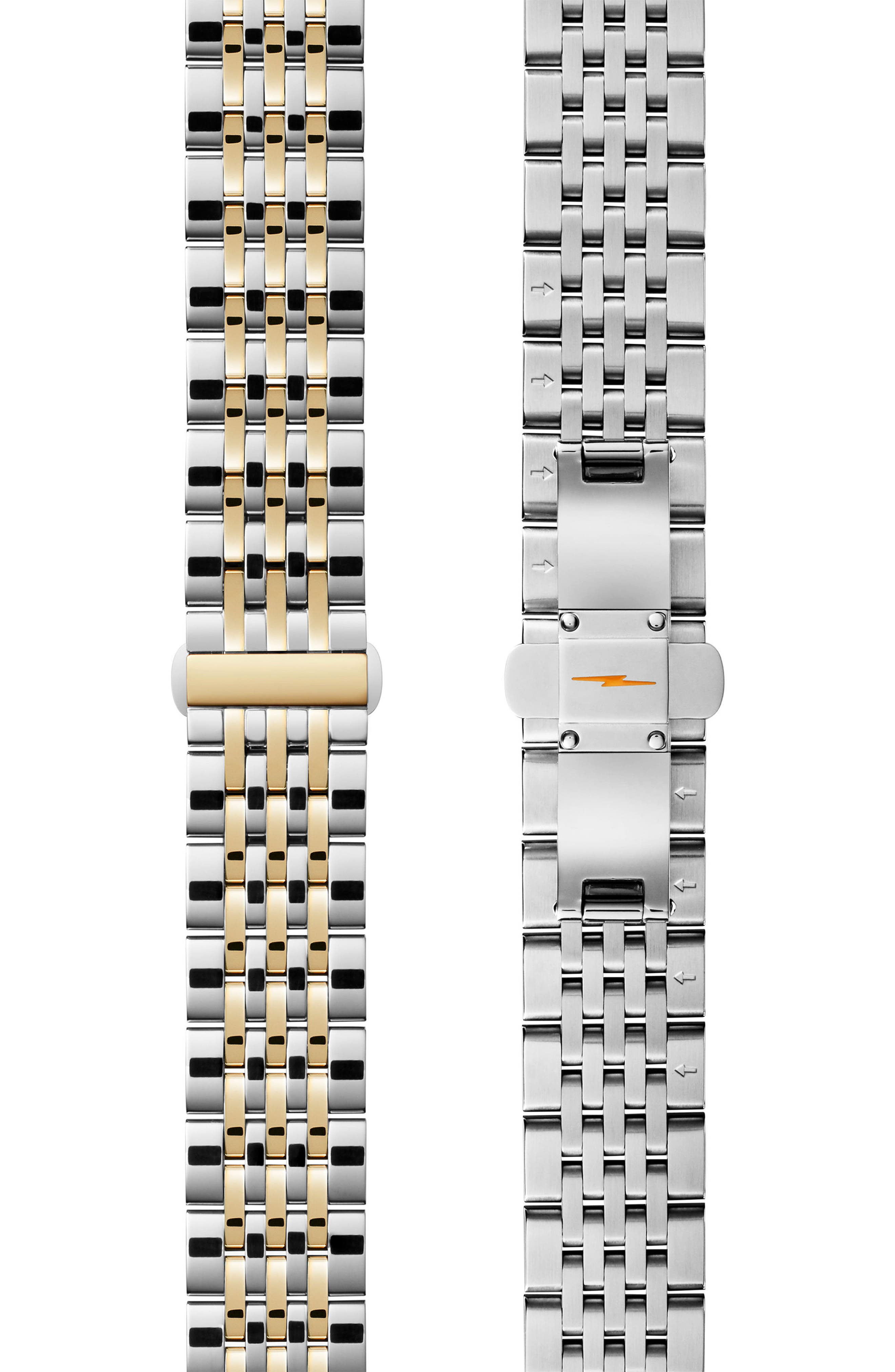 Cass Bracelet Watch, 27mm x 27mm,                             Alternate thumbnail 4, color,                             SILVER/ WHITE/ GOLD