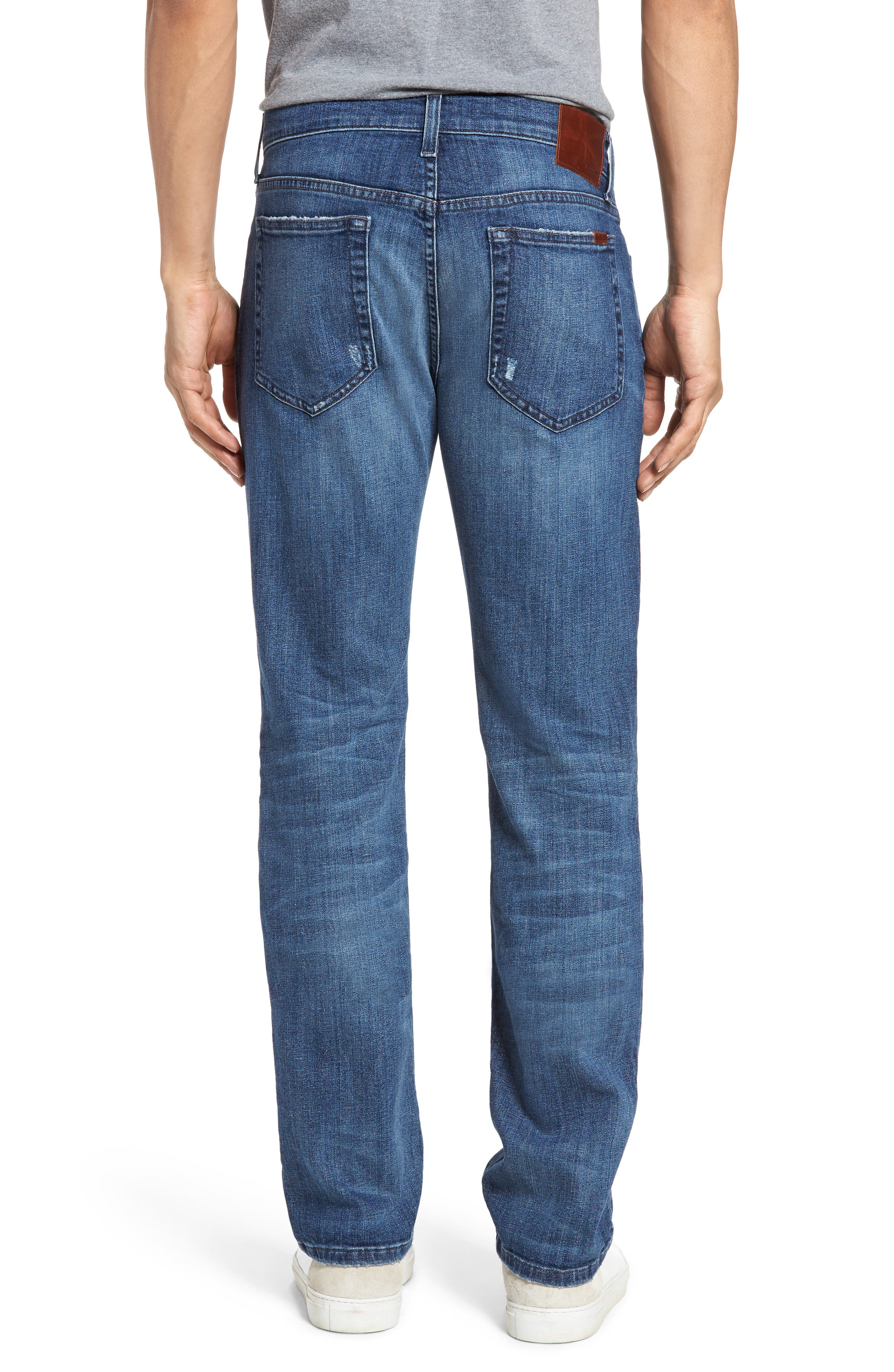 Brixton Slim Straight Leg Jeans,                             Alternate thumbnail 2, color,                             410