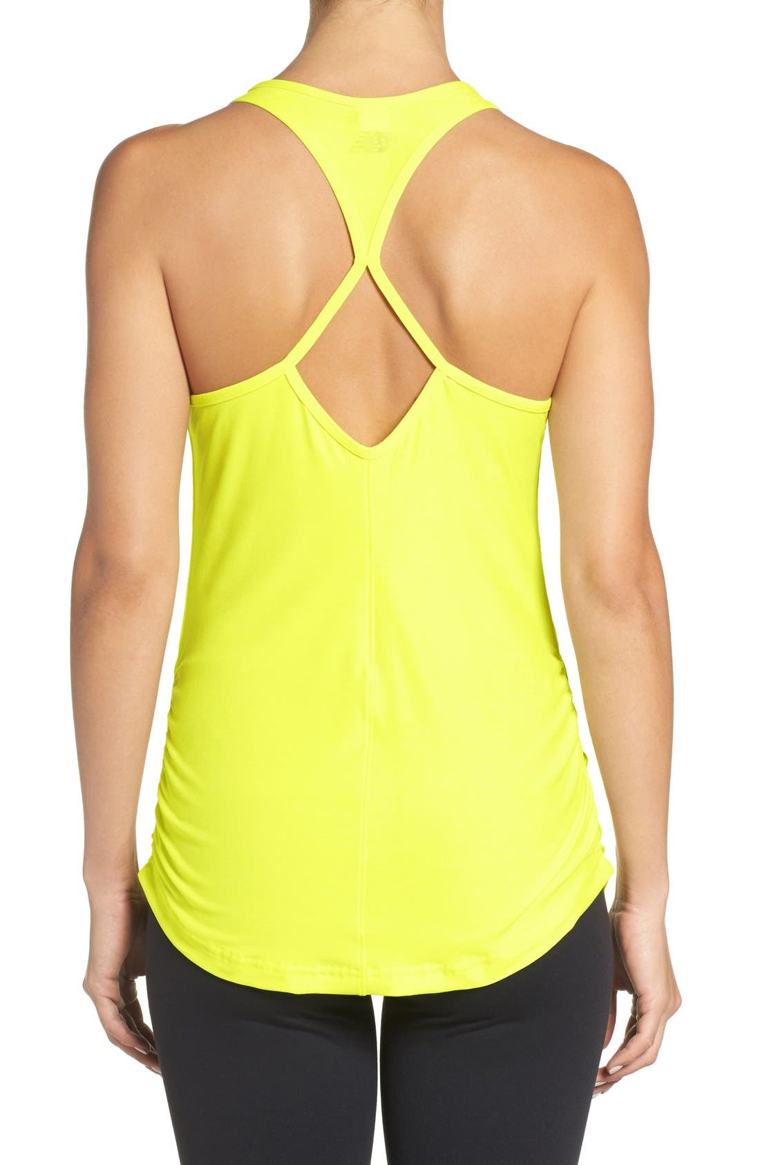 'Perfect' Cutout Racerback Tank,                             Alternate thumbnail 25, color,