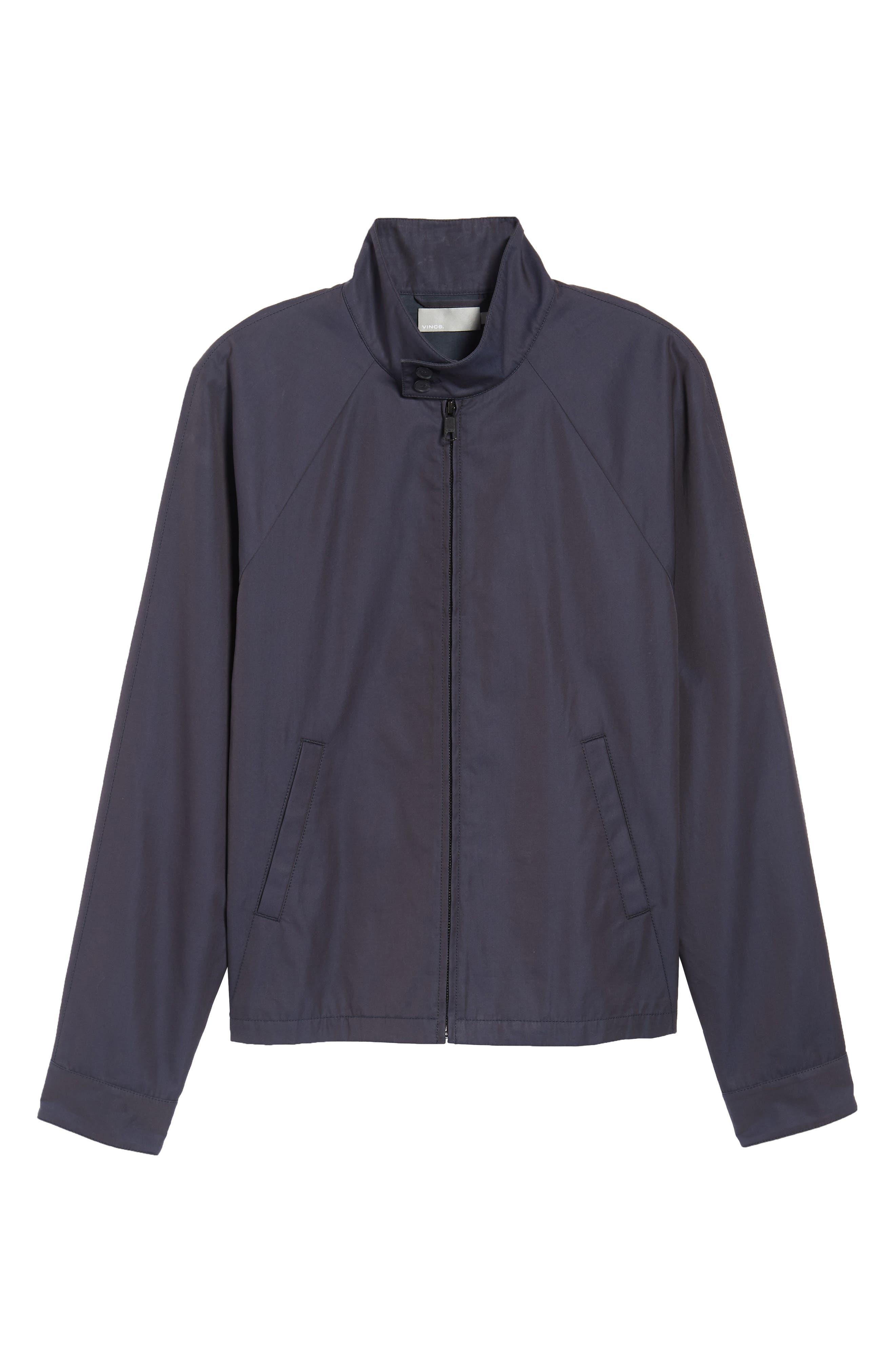 Regular Fit Jacket,                             Alternate thumbnail 5, color,                             NAVY