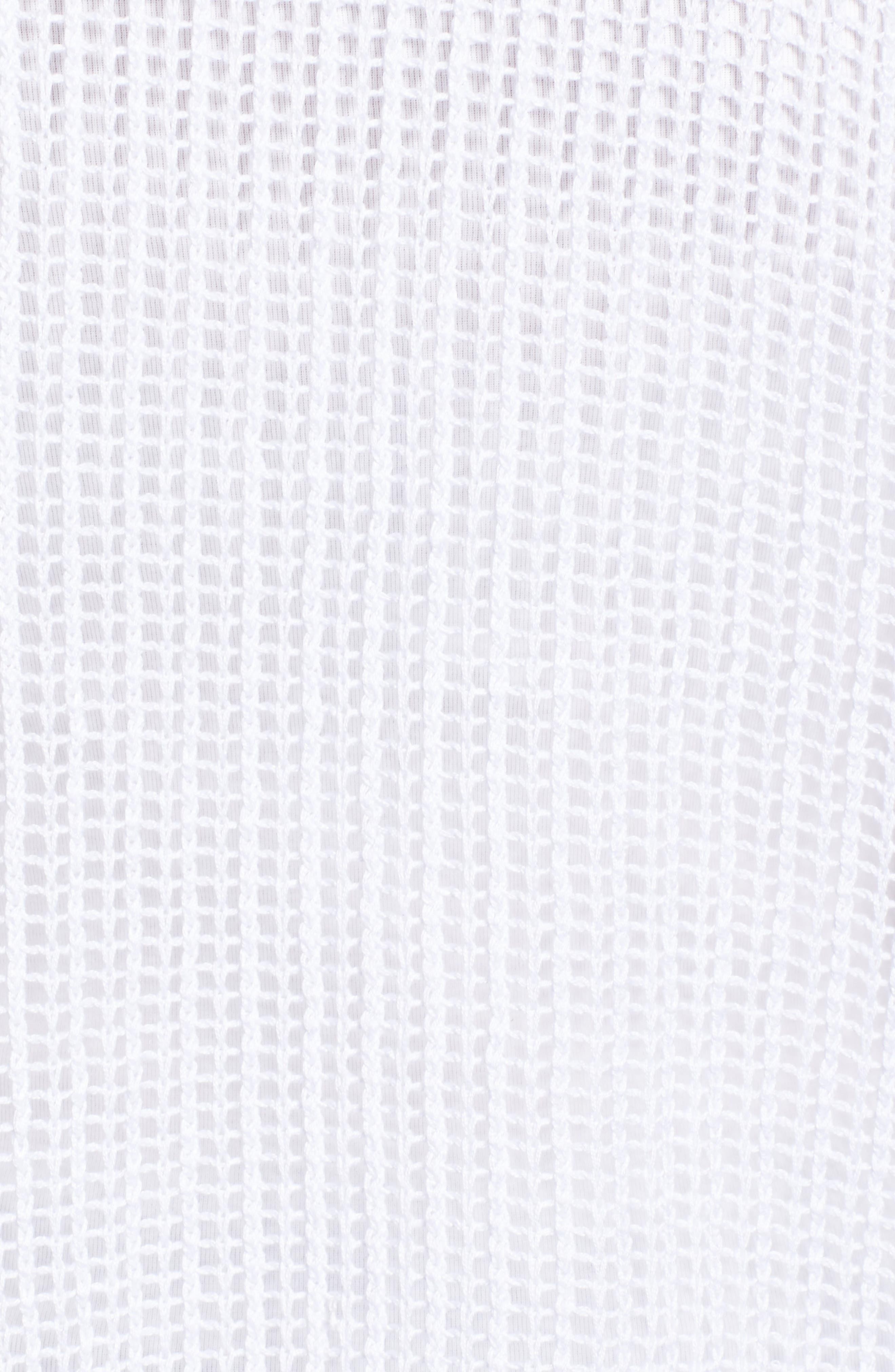 EILEEN FISHER,                             Short Organic Linen Cardigan,                             Alternate thumbnail 6, color,                             103