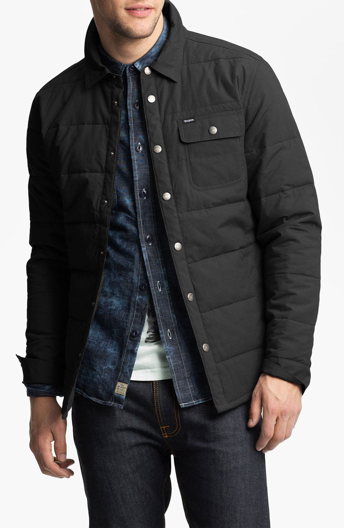 'Cass' Quilted Jacket,                             Main thumbnail 6, color,