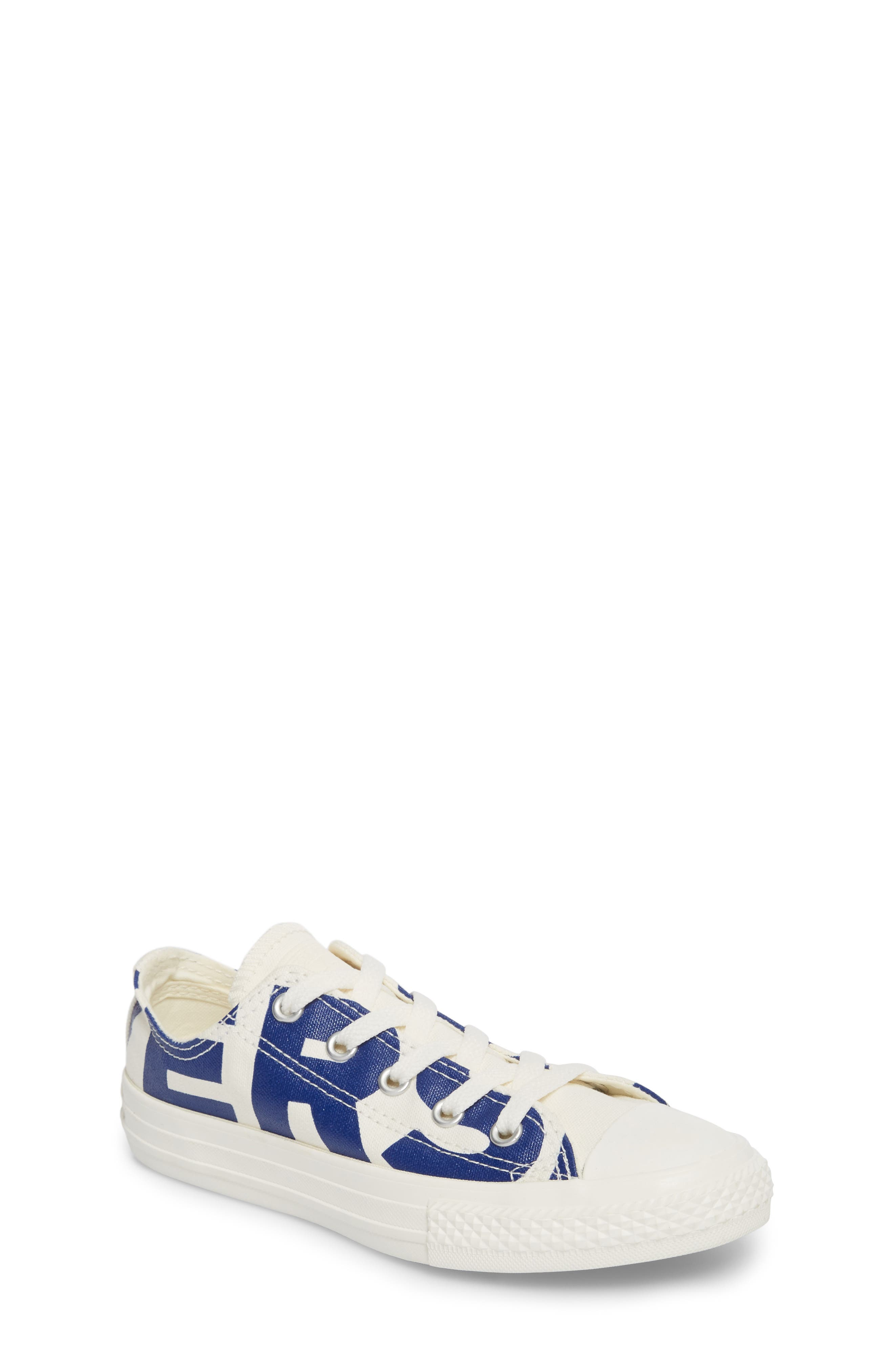 All Star<sup>®</sup> Wordmark OX Low Top Sneaker,                         Main,                         color, 400