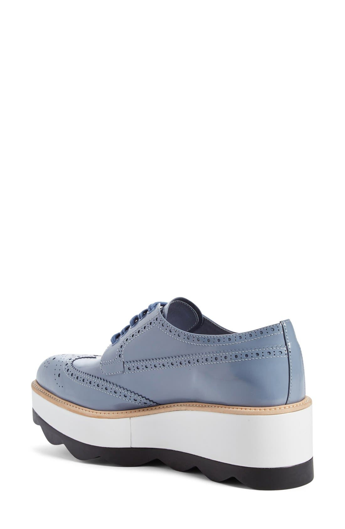 Scalloped Platform Oxford,                             Alternate thumbnail 34, color,
