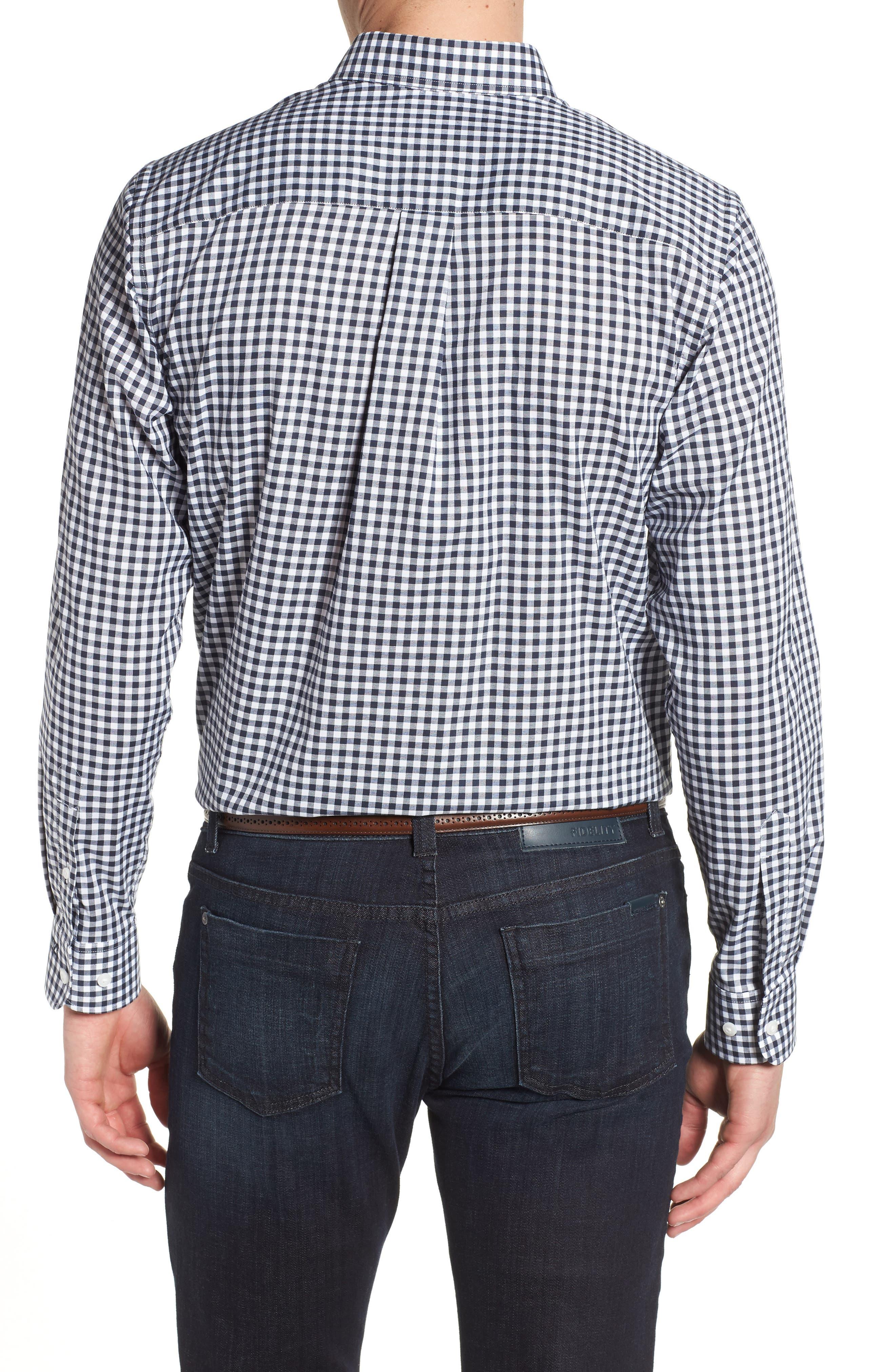 League Houston Texans Regular Fit Shirt,                             Alternate thumbnail 2, color,                             LIBERTY NAVY